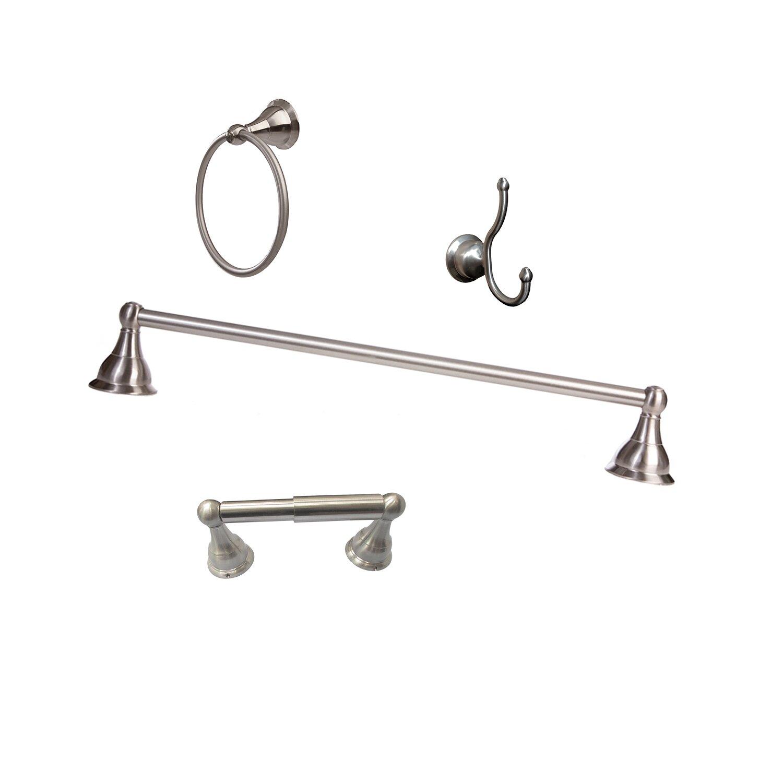 arista summit 4 piece wall mounted bathroom hardware set & reviews