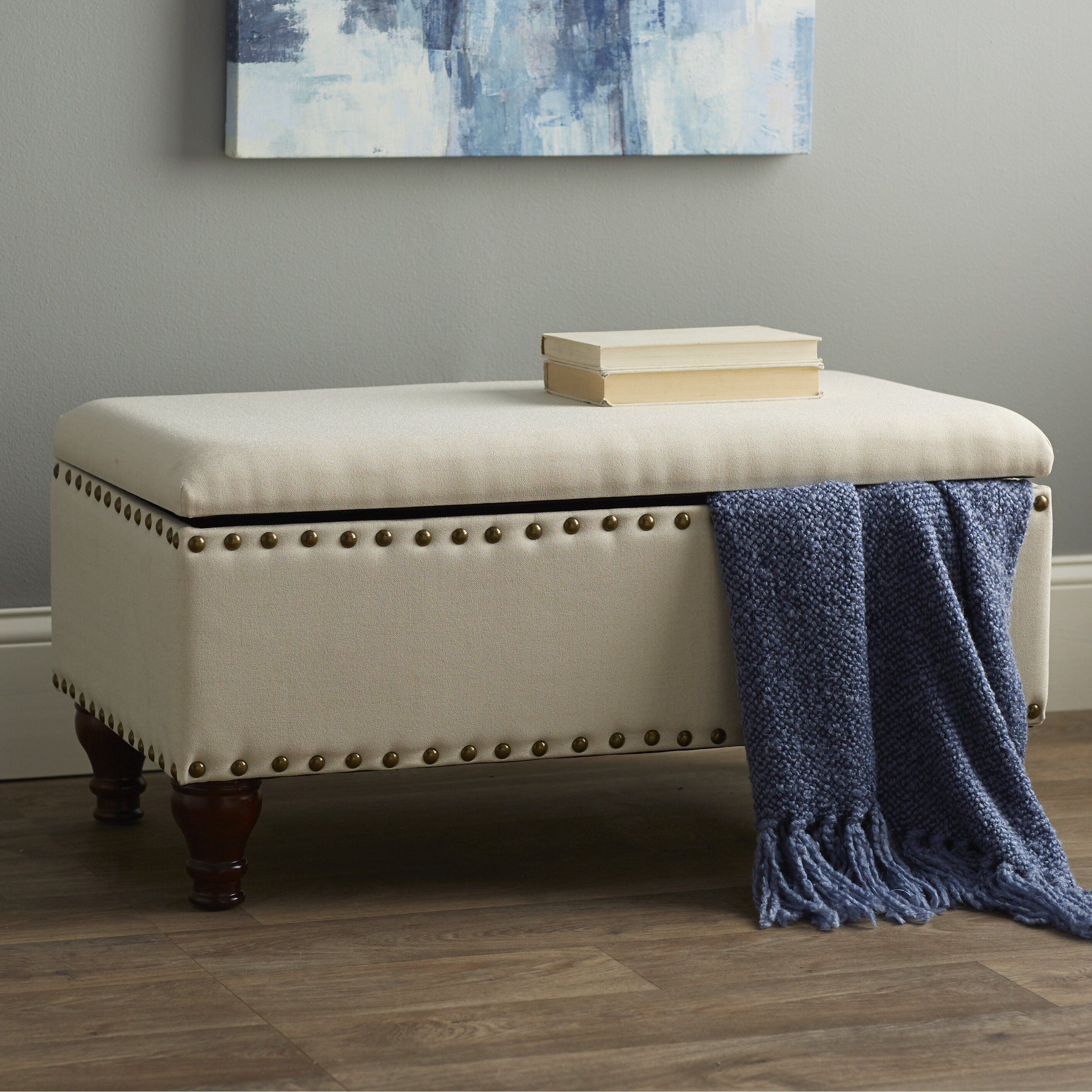 filander upholstered storage bedroom bench reviews