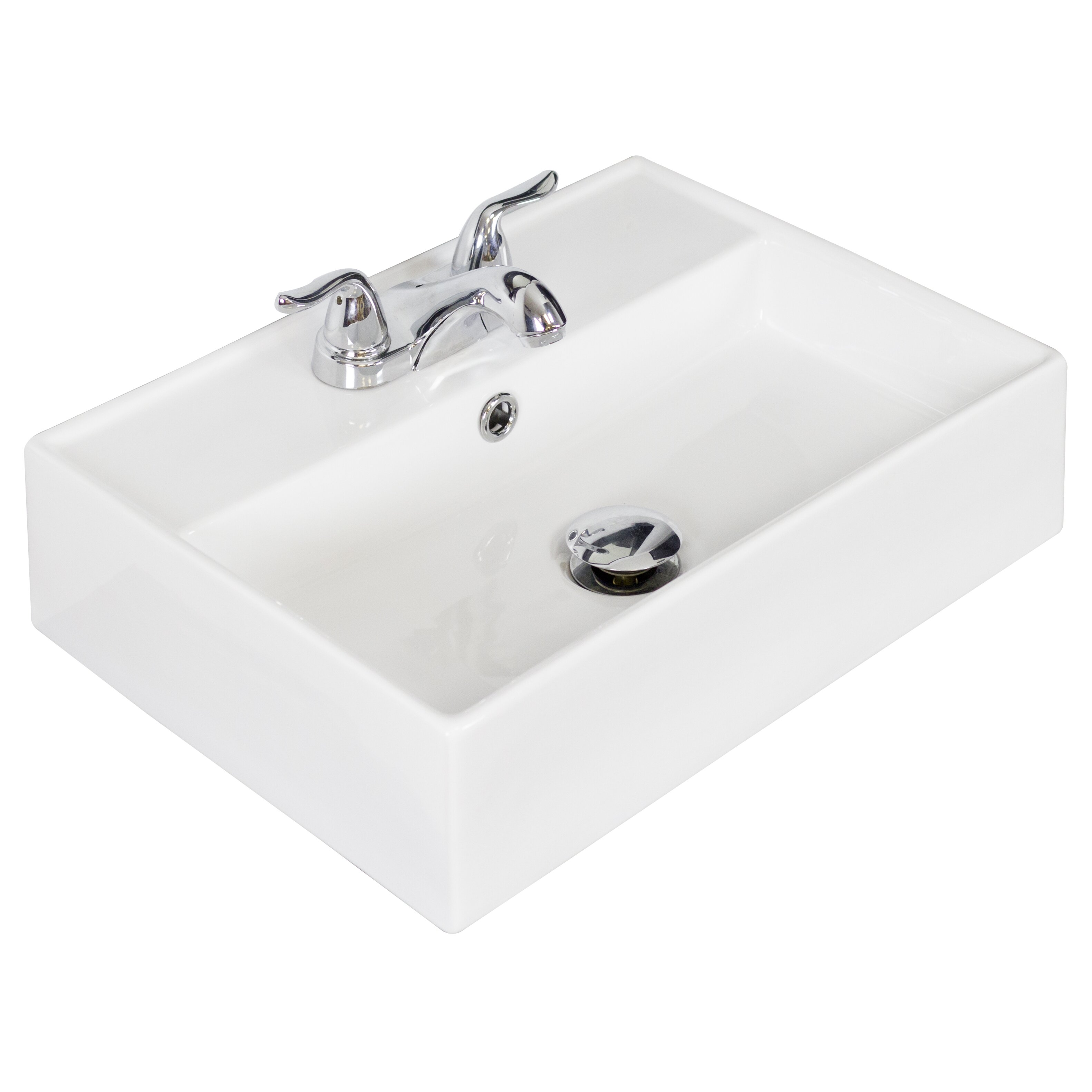 Https Www Wayfair Com American Imaginations Wall Mounted Rectangle Bathroom Sink Amim3066 Html
