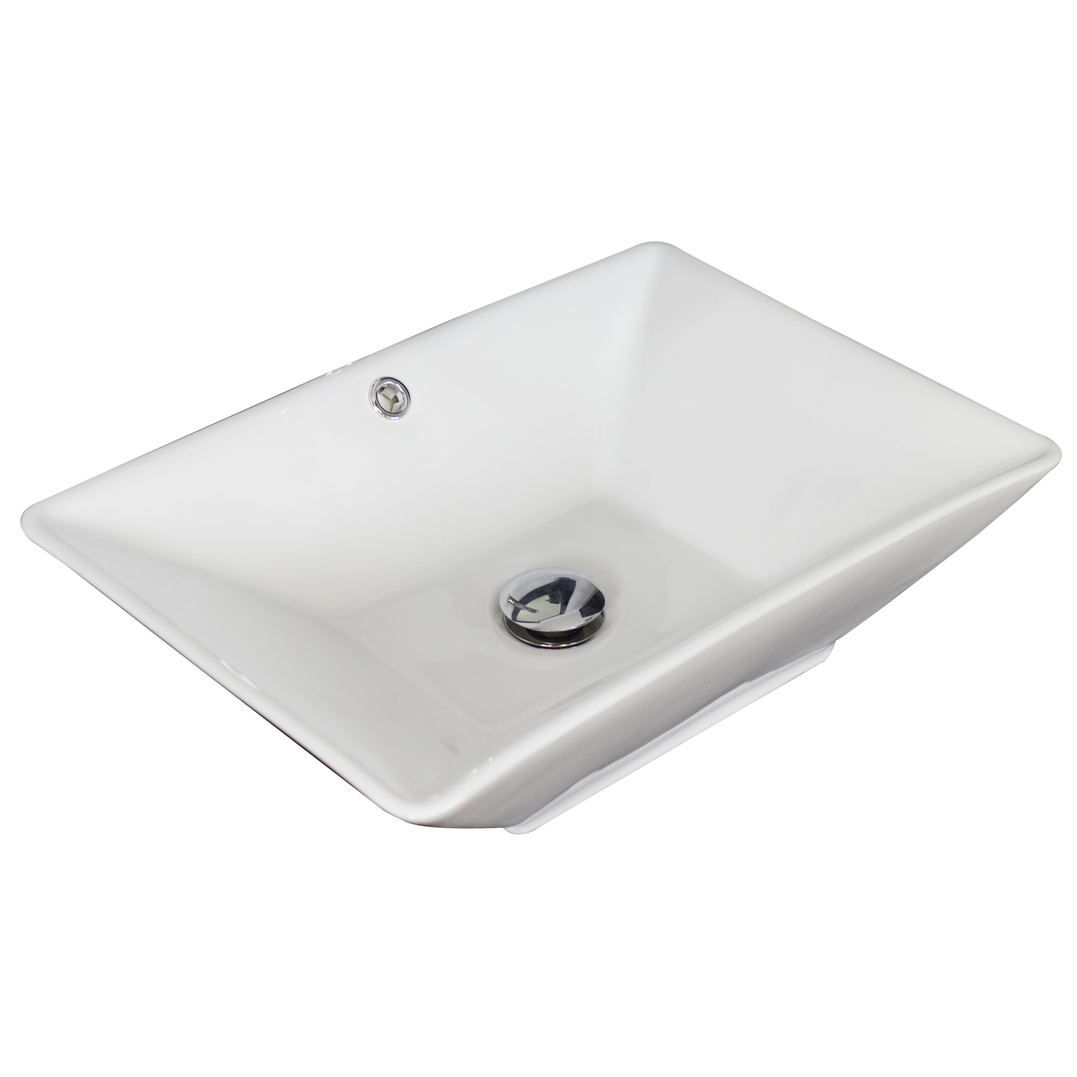 Rectangular Bathroom Sinks American Imaginations Above Counter Rectangular Vessel Bathroom