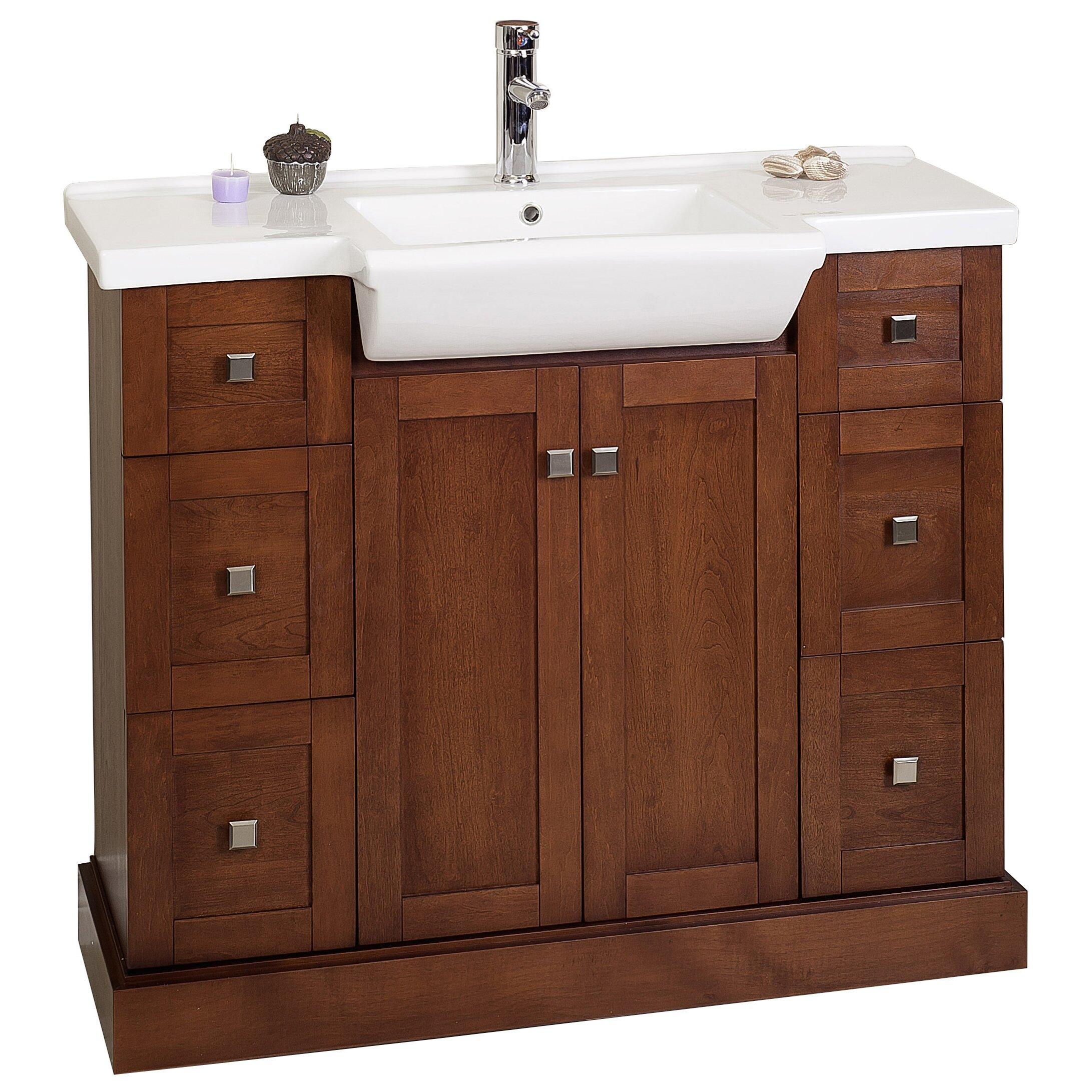 American Imaginations 40 Single Modern Bathroom Vanity Set Reviews Wayfair