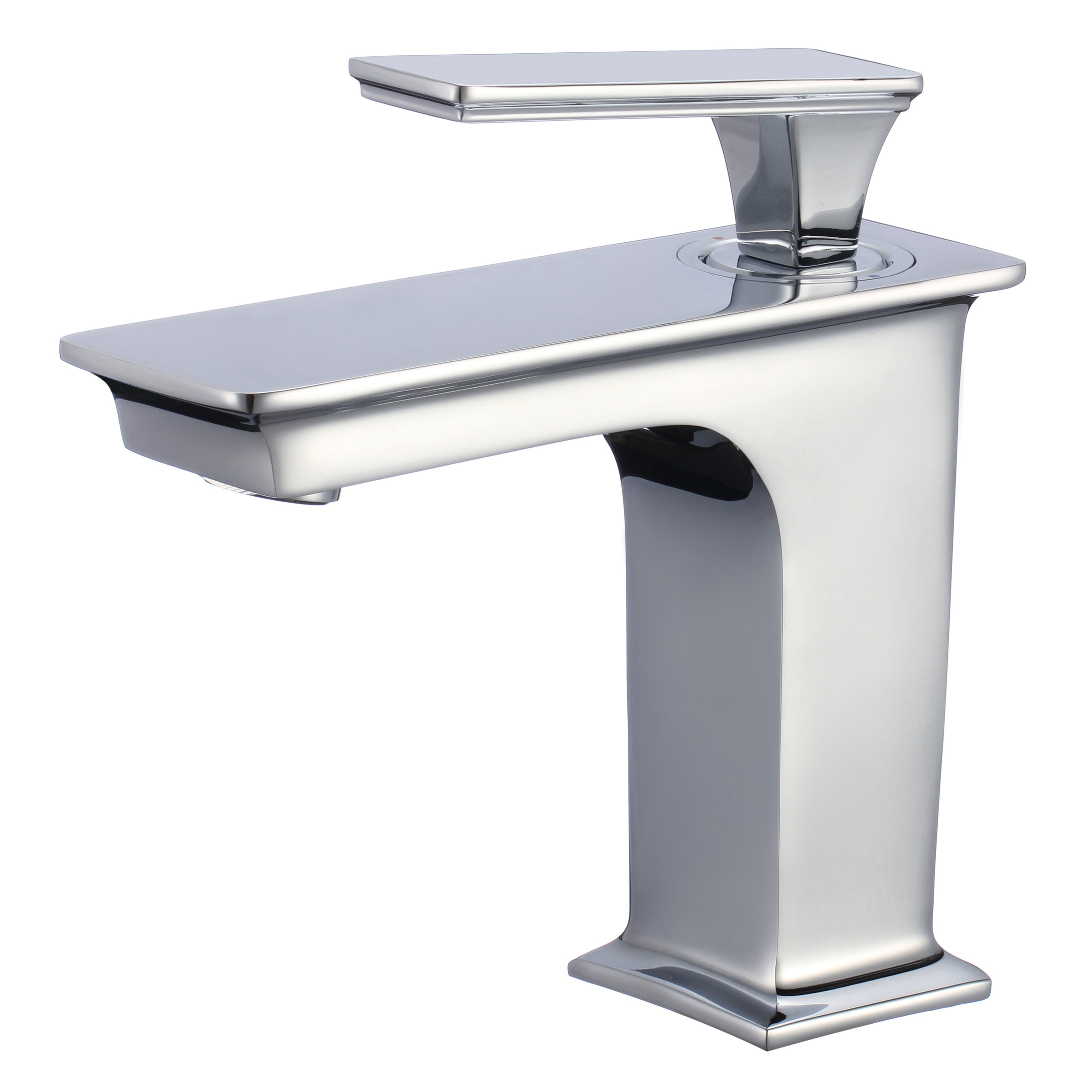 American Imaginations Rectangle Vessel Bathroom Sink with