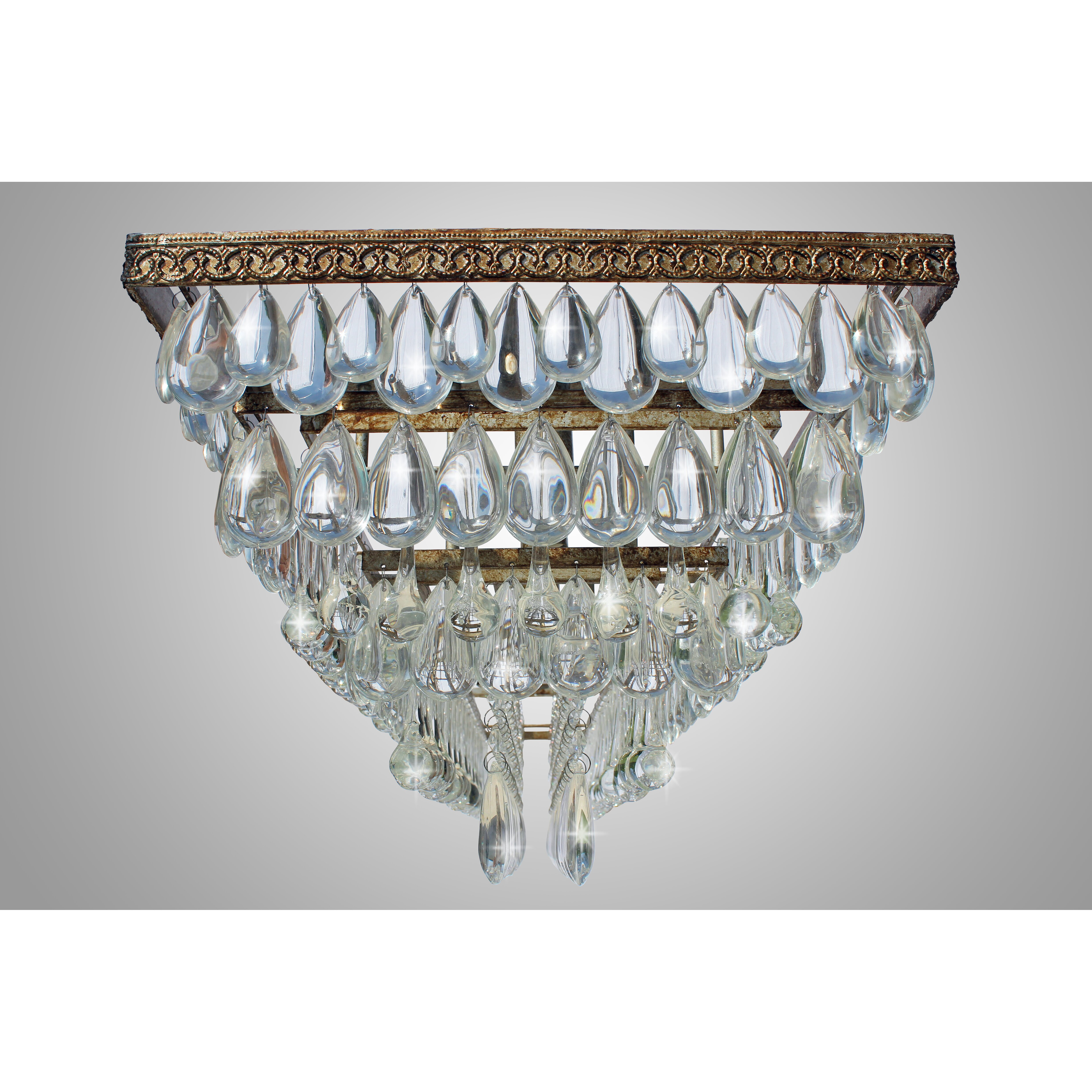 Lightupmyhome the weston 6 light crystal chandelier for 6 light crystal chandelier