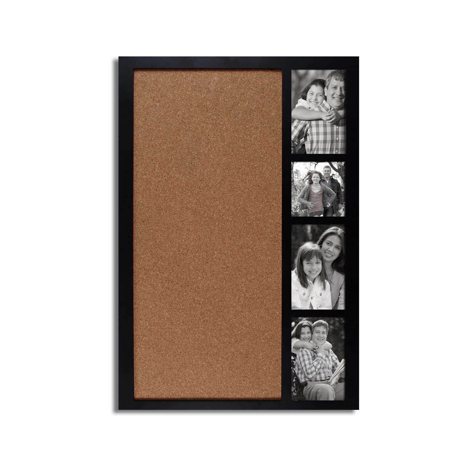 adeco trading 4 opening bulletin board collage picture frame