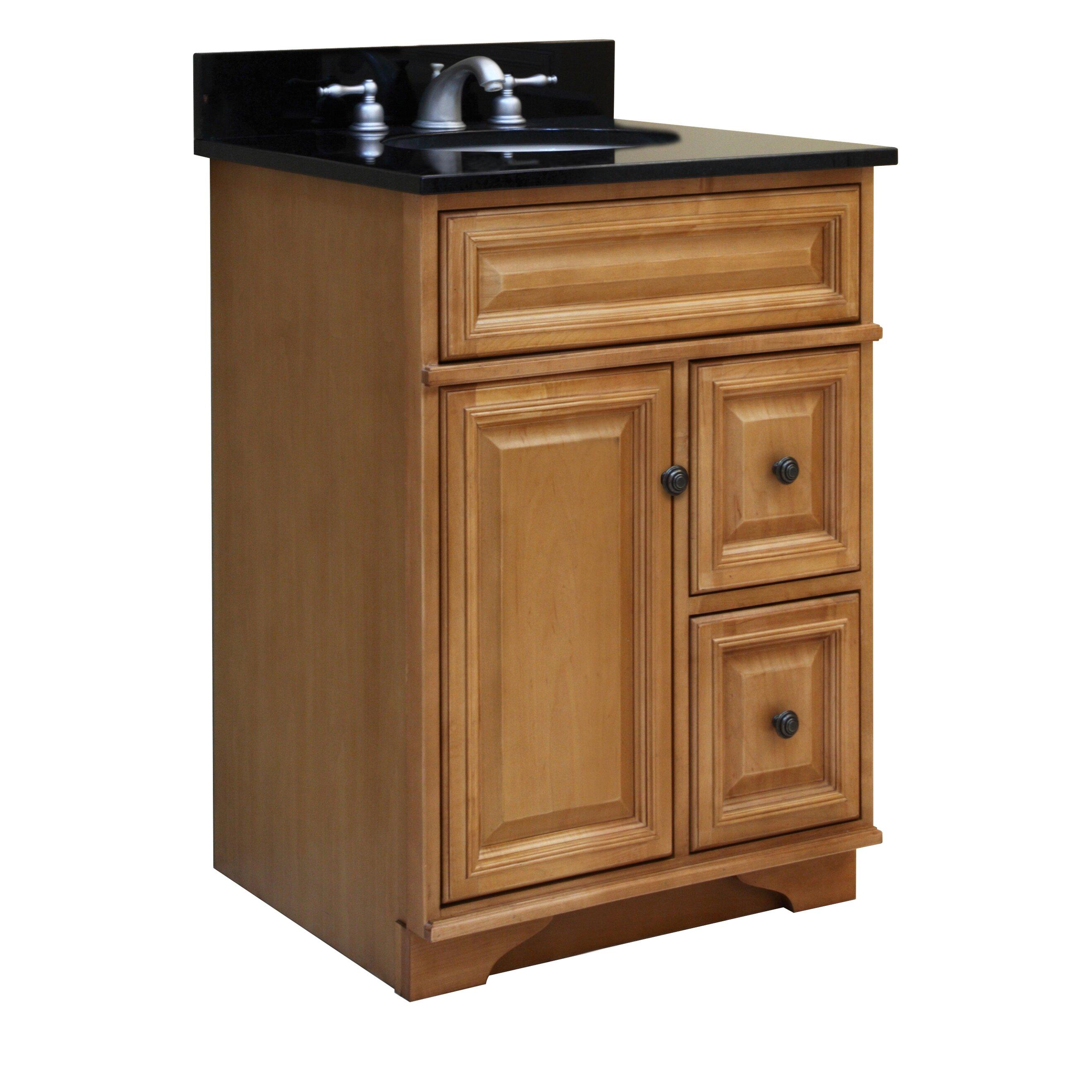 Sunnywood Kitchen Cabinets Sunny Wood Briarwood 24 Bathroom Vanity Base Reviews Wayfair