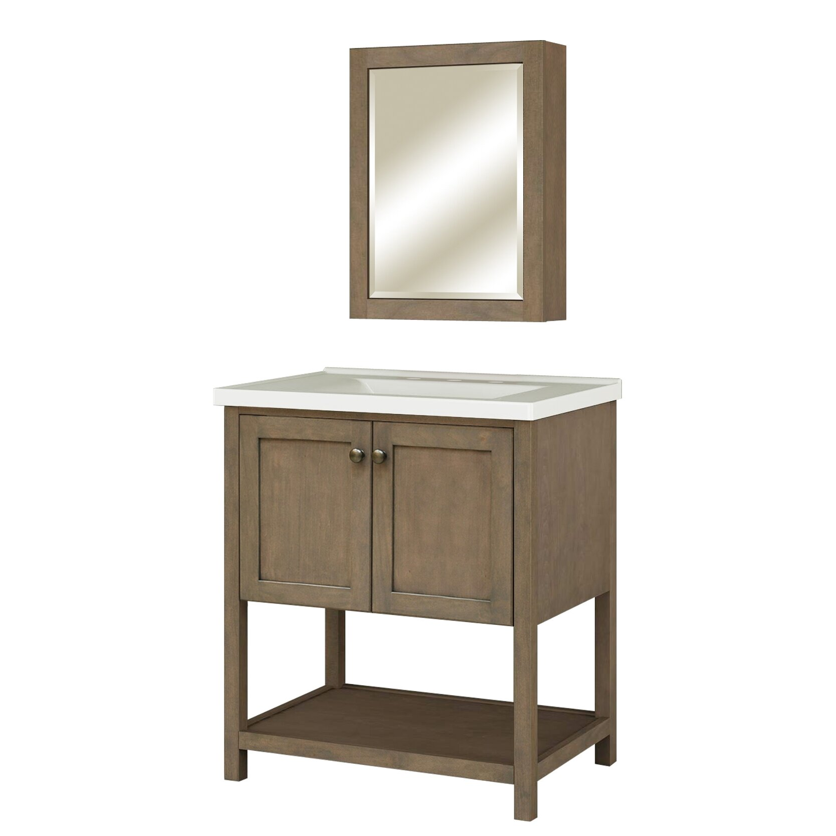 Sunnywood Kitchen Cabinets Sunny Wood Aiden 20 X 26 Surface Mount Medicine Cabinet Wayfair