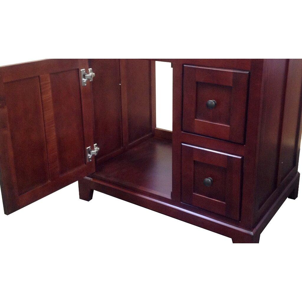 Sunnywood Kitchen Cabinets Sunny Wood Grand Haven 30 Bathroom Vanity Base Wayfair