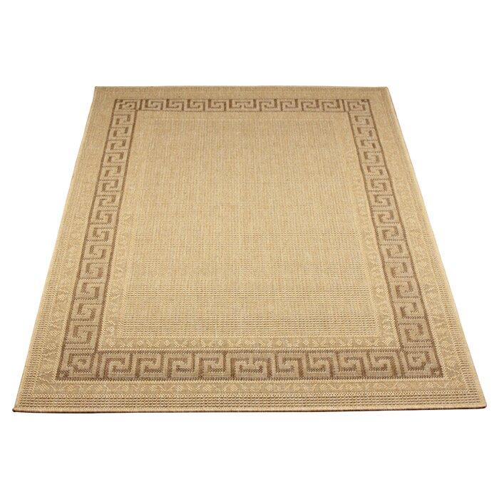 Oriental weavers greek flatweave beige indoor outdoor area for Indoor outdoor rugs uk