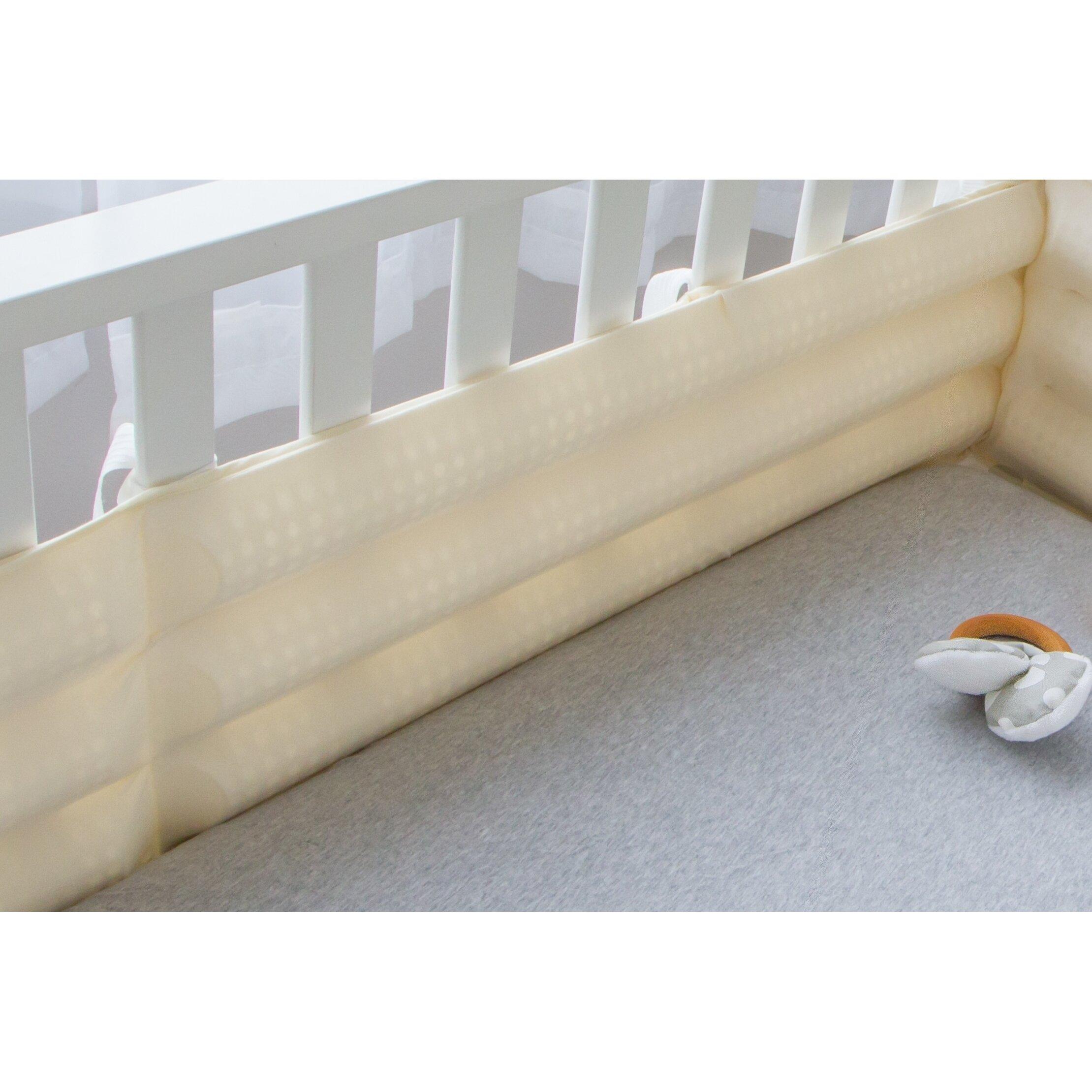 Bumper for crib for sale - Bitzy Baby Breathable Safe Crib Bumper