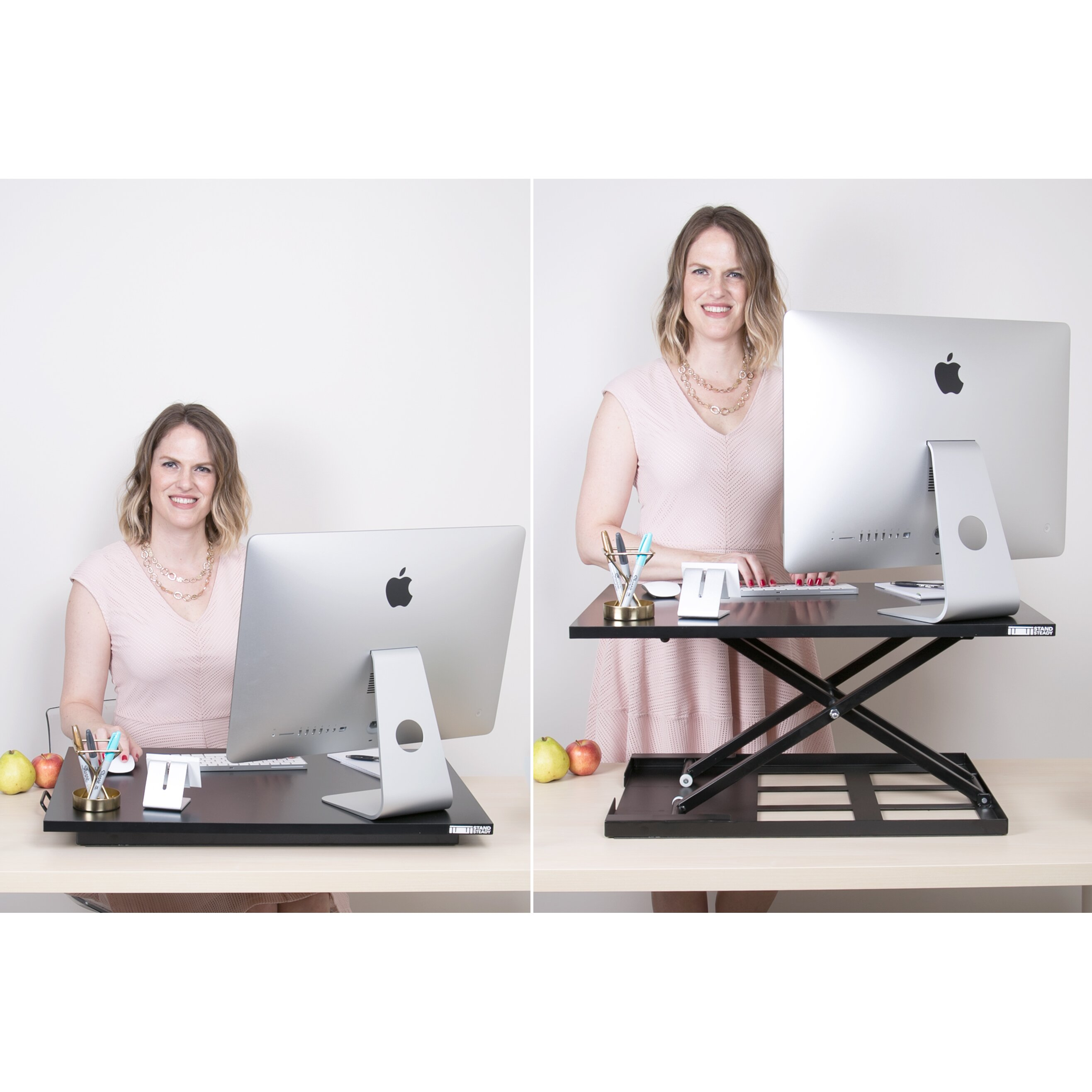 Stand Steady X Elite Pro Standing Desk Amp Reviews Wayfair Ca