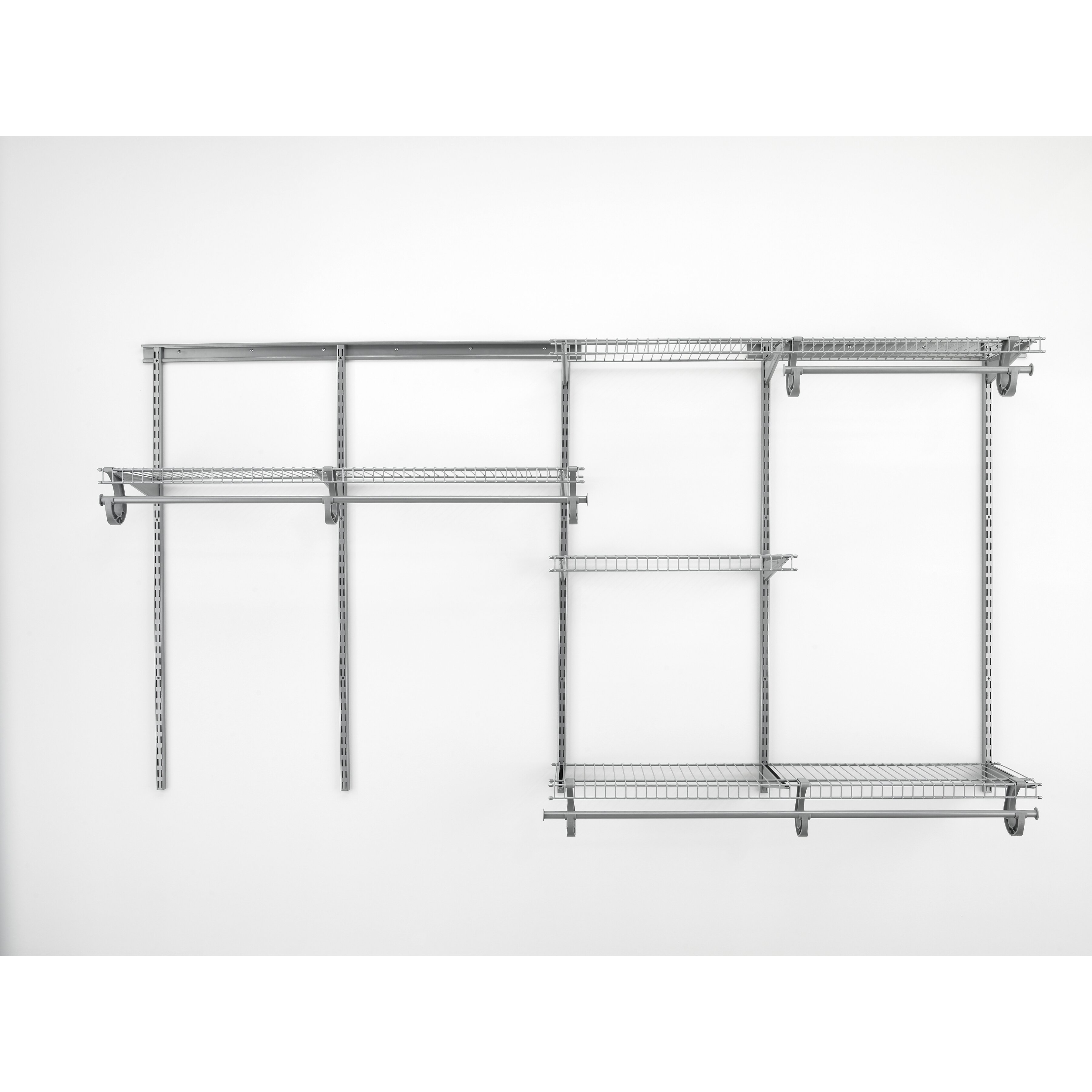 Closetmaid 7 Ft To 10 White Adjule Mount Wire Shelving Kits