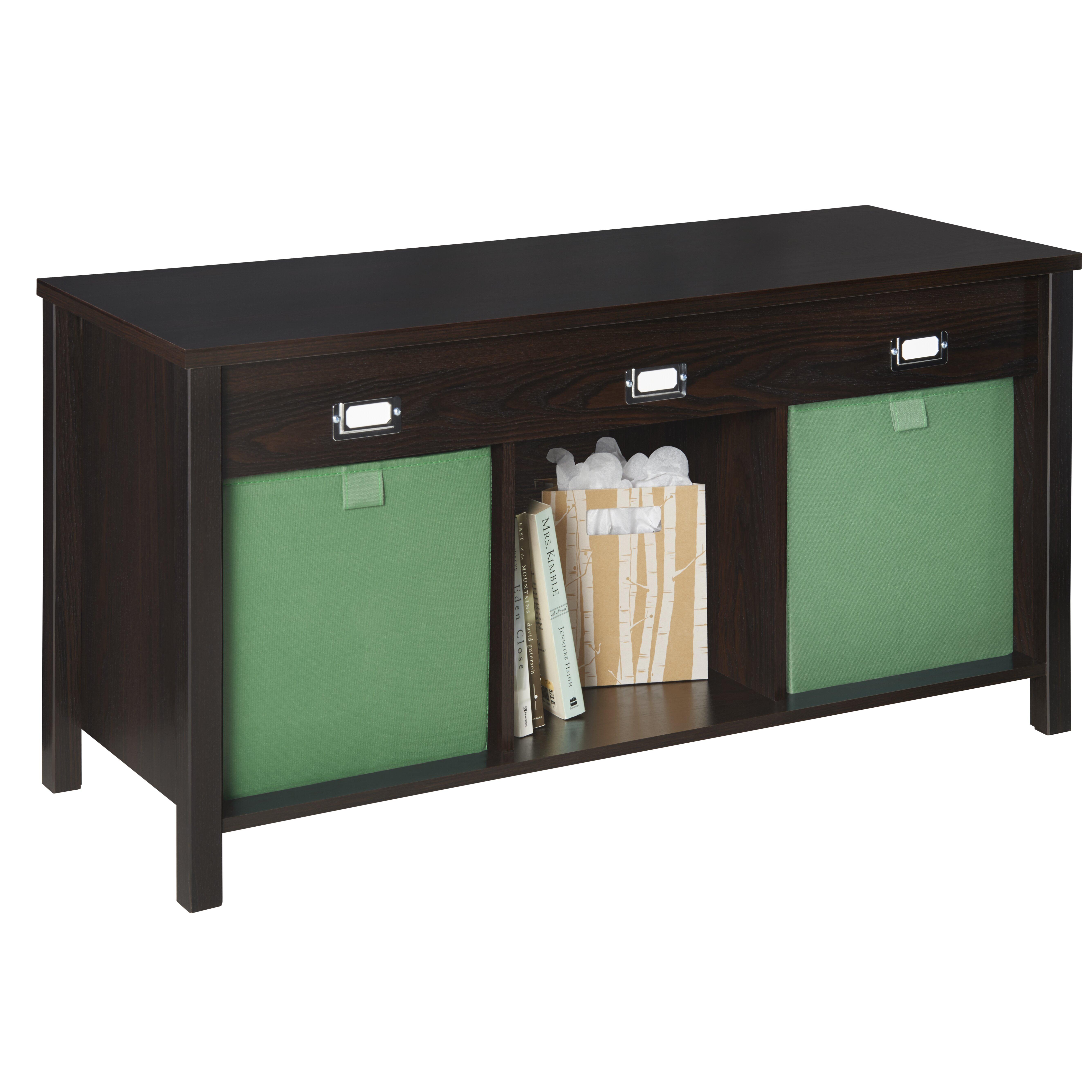 Beautiful Closetmaid Bench Cushion Part - 4: ClosetMaid Premium 3 Cube Storage Entryway Bench