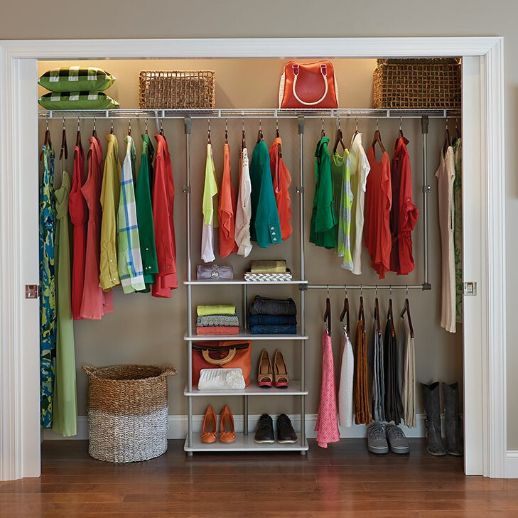 "ClosetMaid 53""W Closet System & Reviews"
