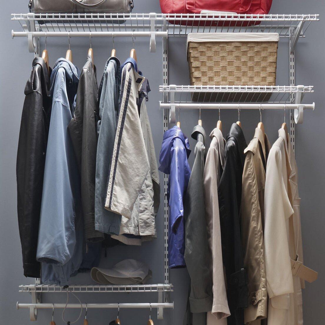 ClosetMaid ShelfTrack 48W   72W Closet System