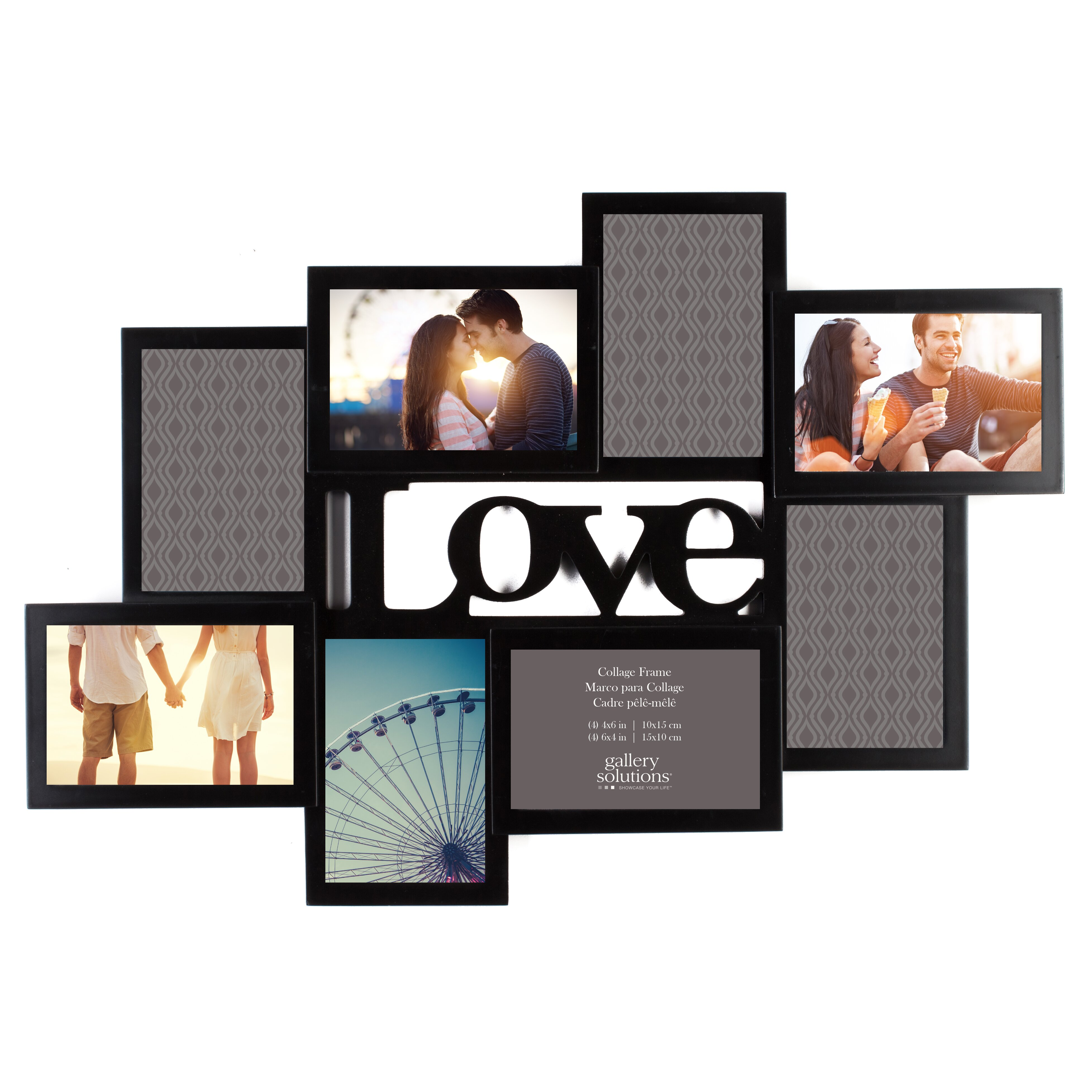 nielsen bainbridge gallery solutions 8 opening love cutout collage picture frame