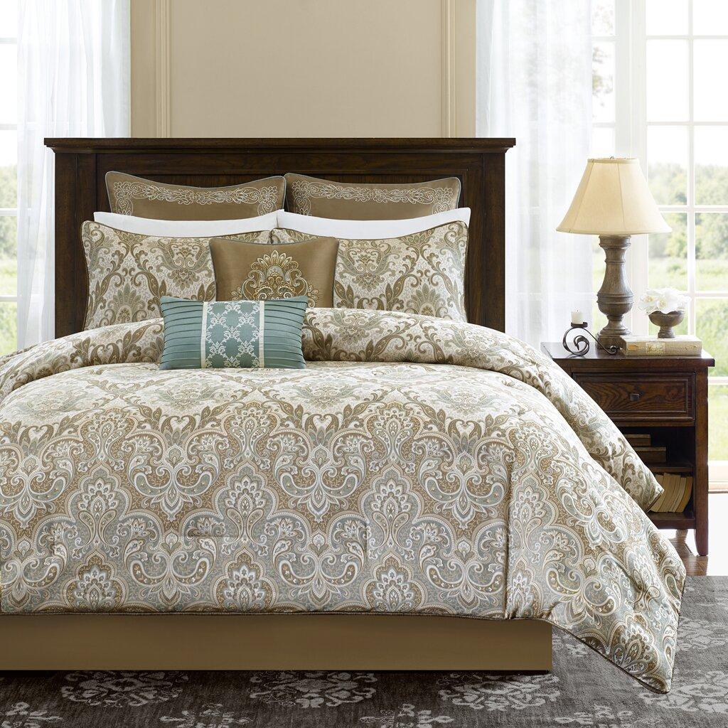 Madison Park Signature 8 Piece Comforter Set Amp Reviews Wayfair