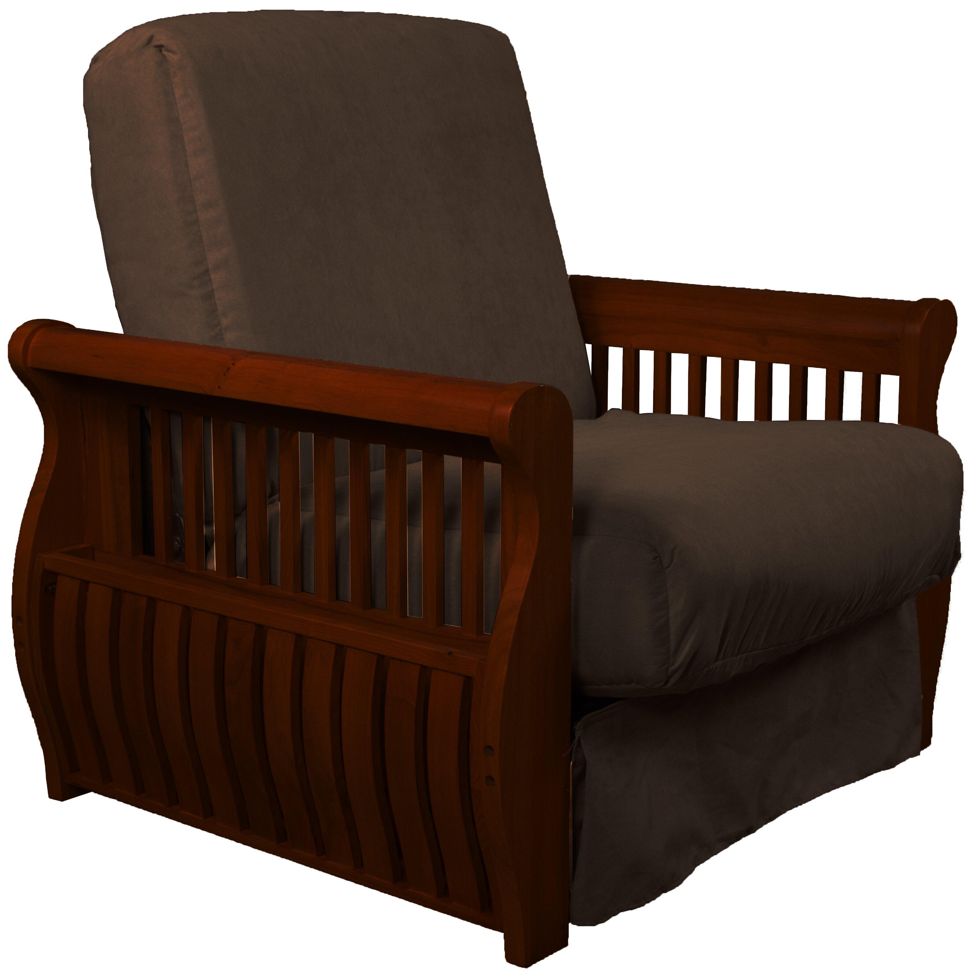Epic Furnishings Llc Concord Futon Chair Wayfair Ca