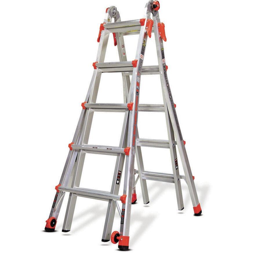 Little Giant Ladder 19 Ft Aluminum Velocity Multi Position