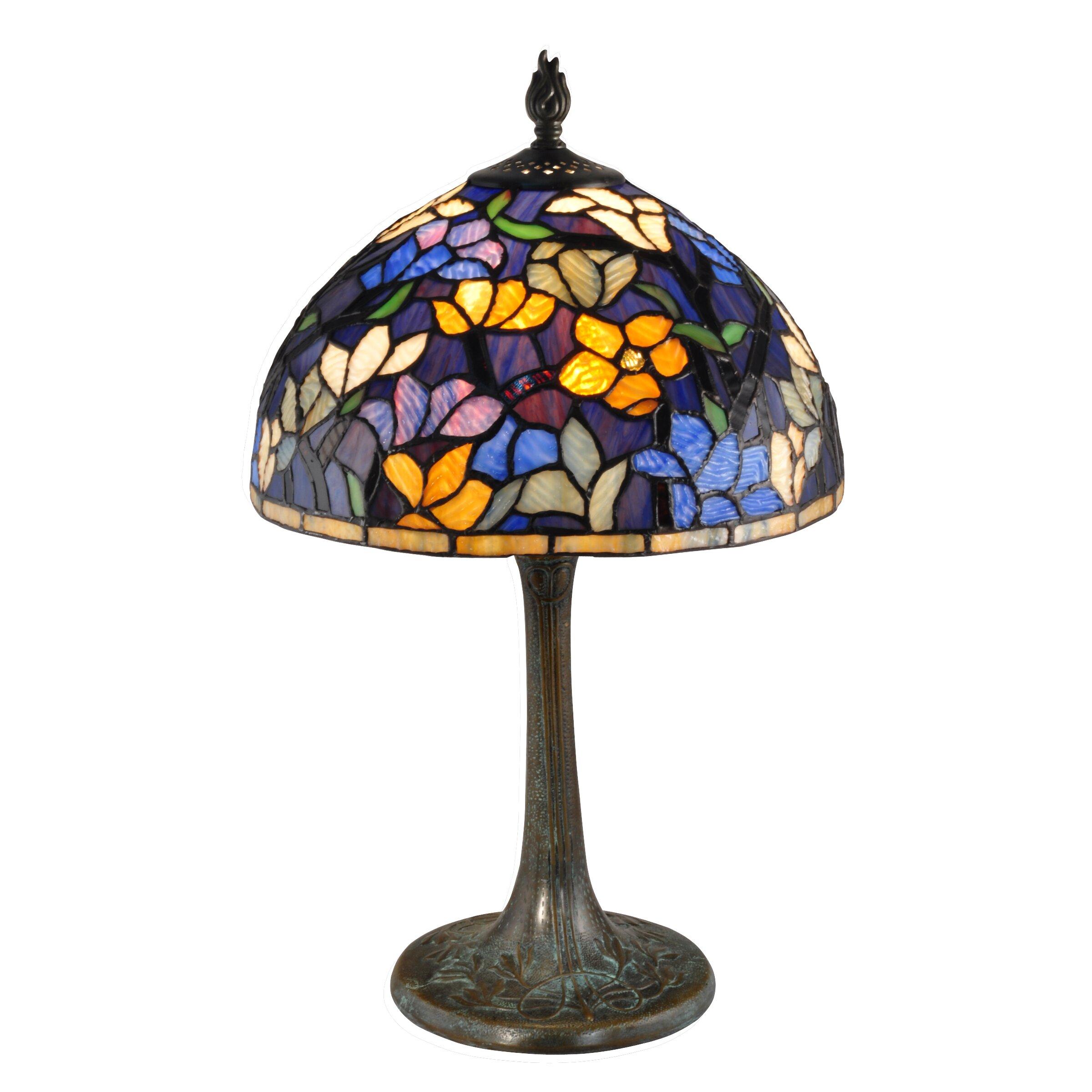 "Dale Tiffany Ridge 18.5"" Table Lamp & Reviews | Wayfair"