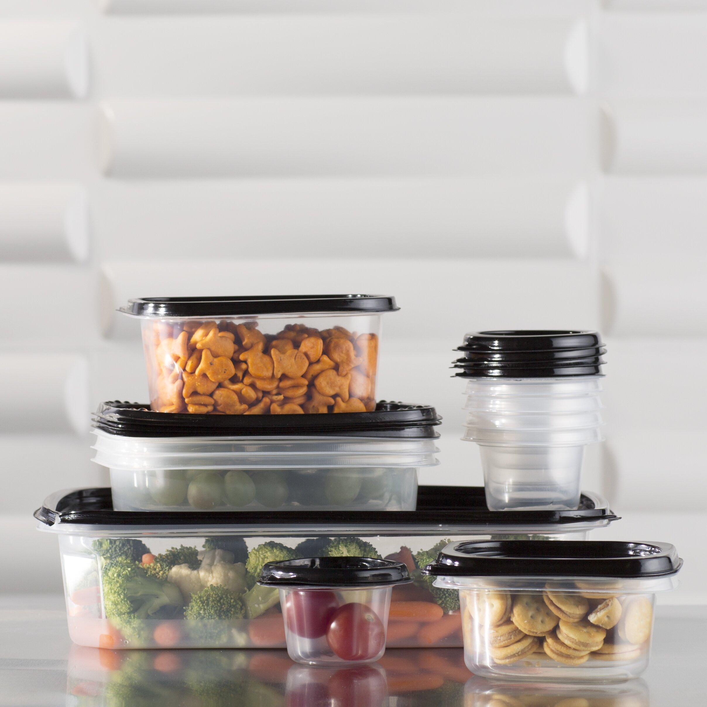 wayfair allmodern - wayfair basics piece plastic food storage container set