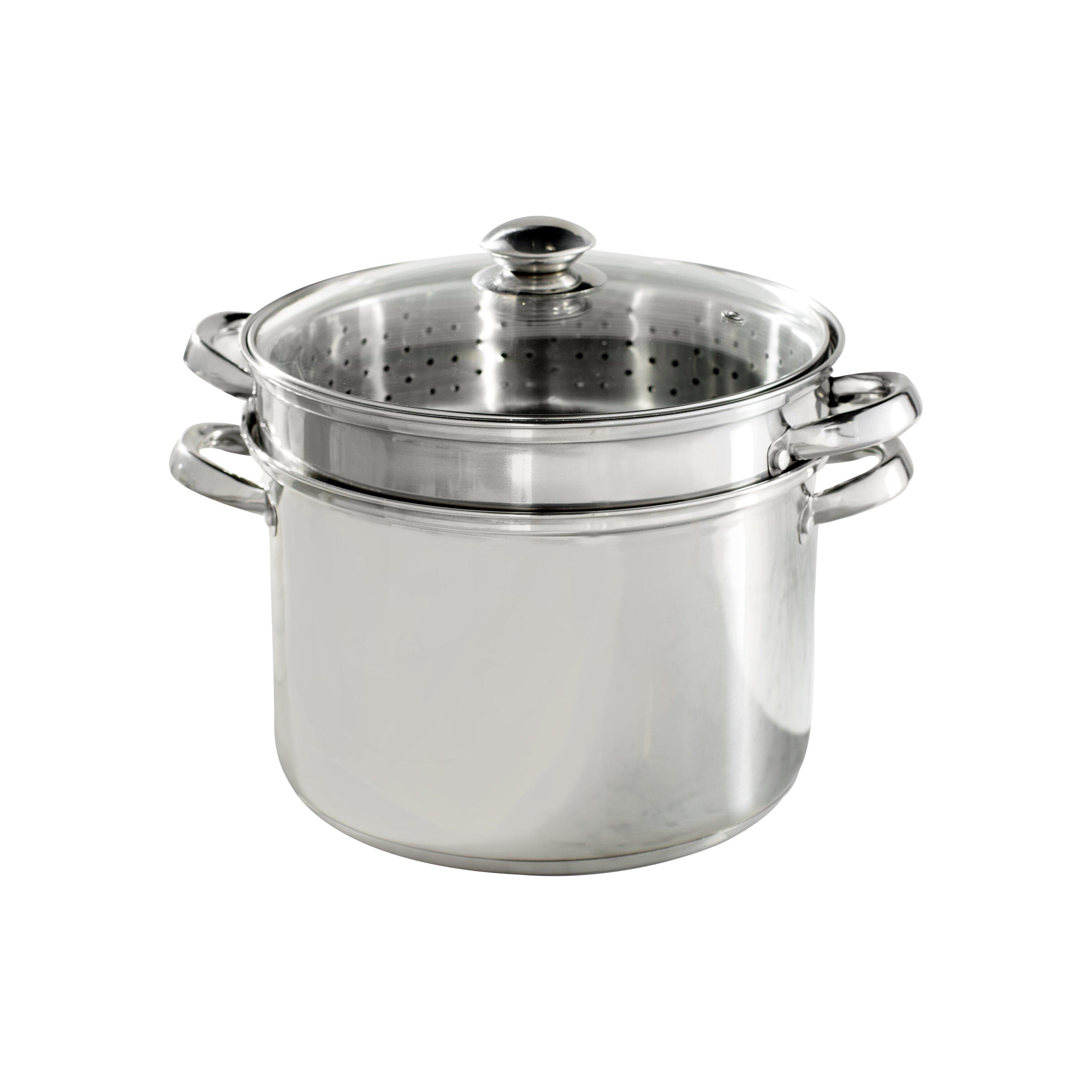 Wayfair basics wayfair basics stainless steel multi cooker for Multi cooker