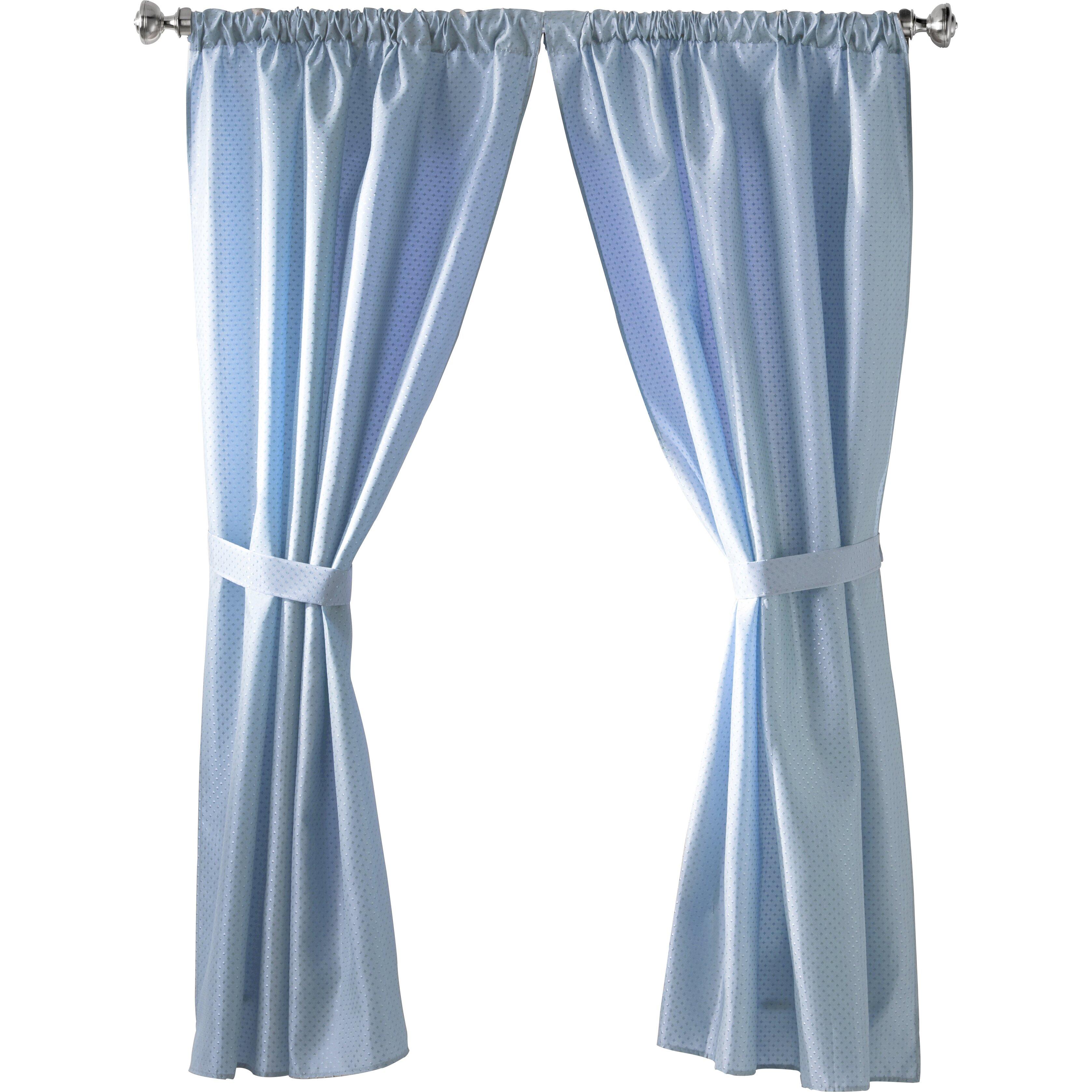 wayfair basics wayfair basics rod pocket curtain panels