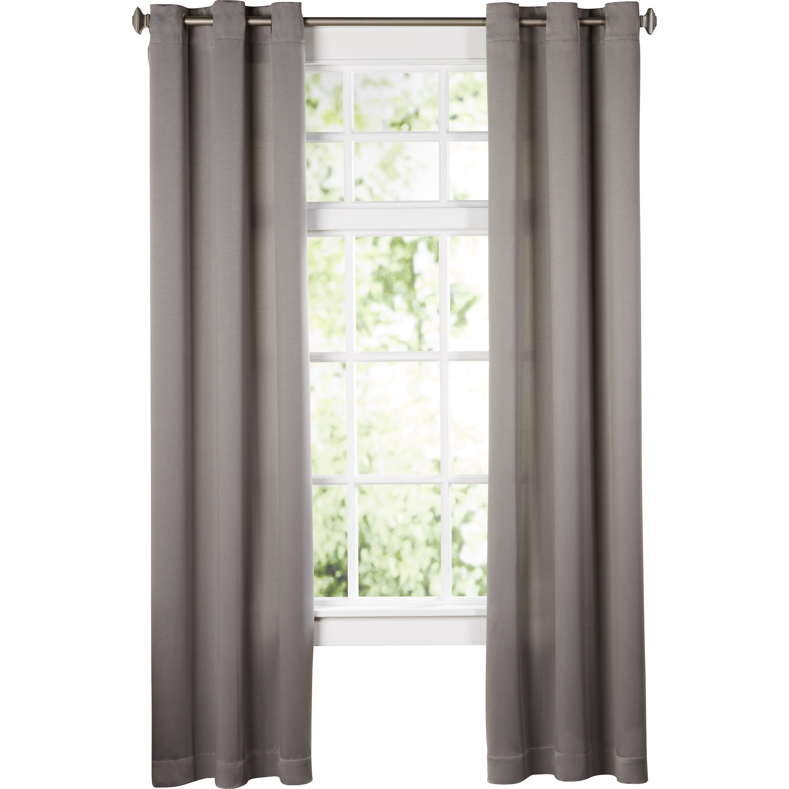 wayfair basics wayfair basics grommet single curtain panel reviews