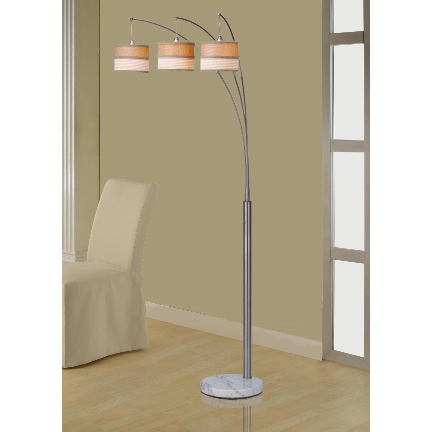 "Artiva USA Luca 86"" Tree Floor Lamp & Reviews | Wayfair"