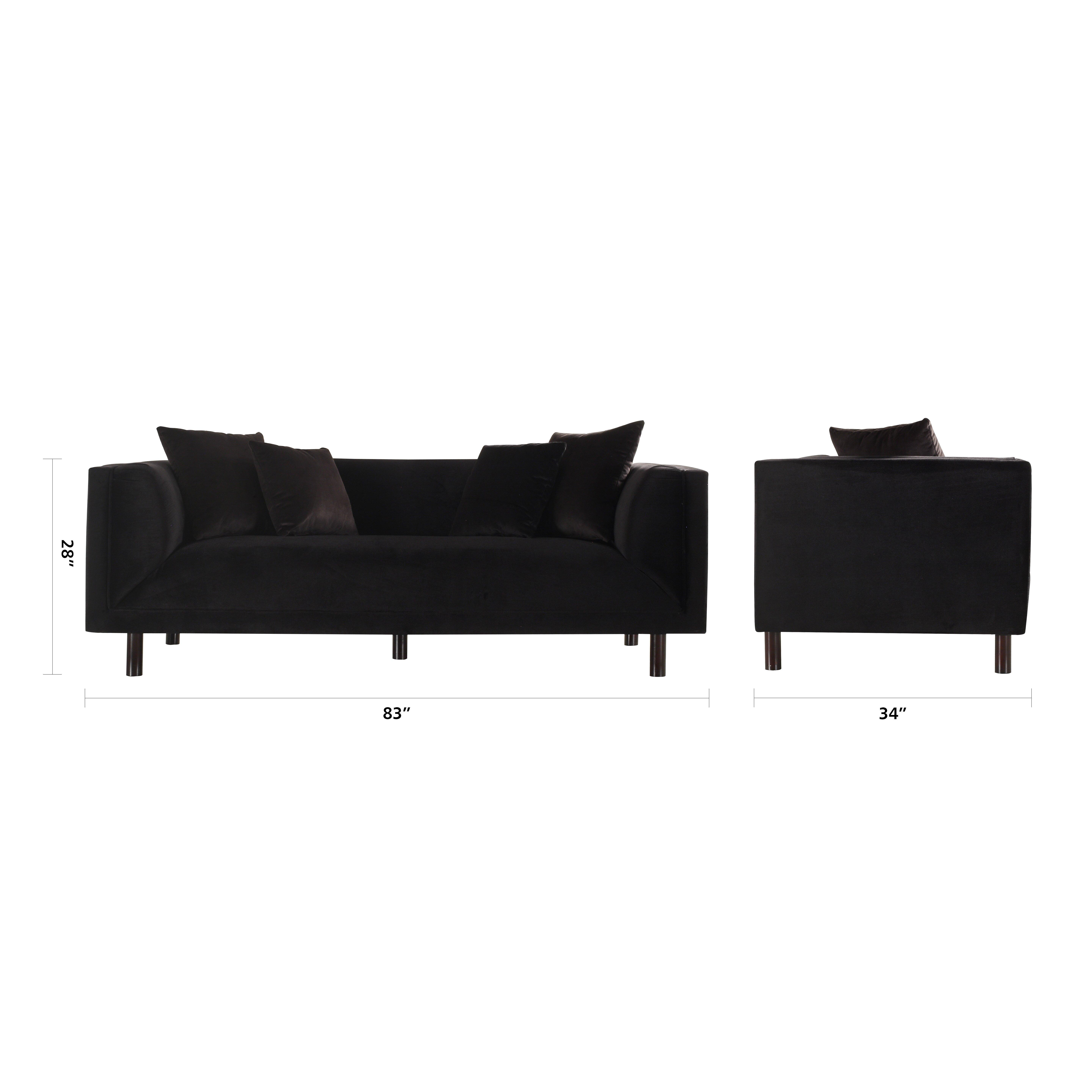 madison home usa mid century modern sofa reviews wayfair ass