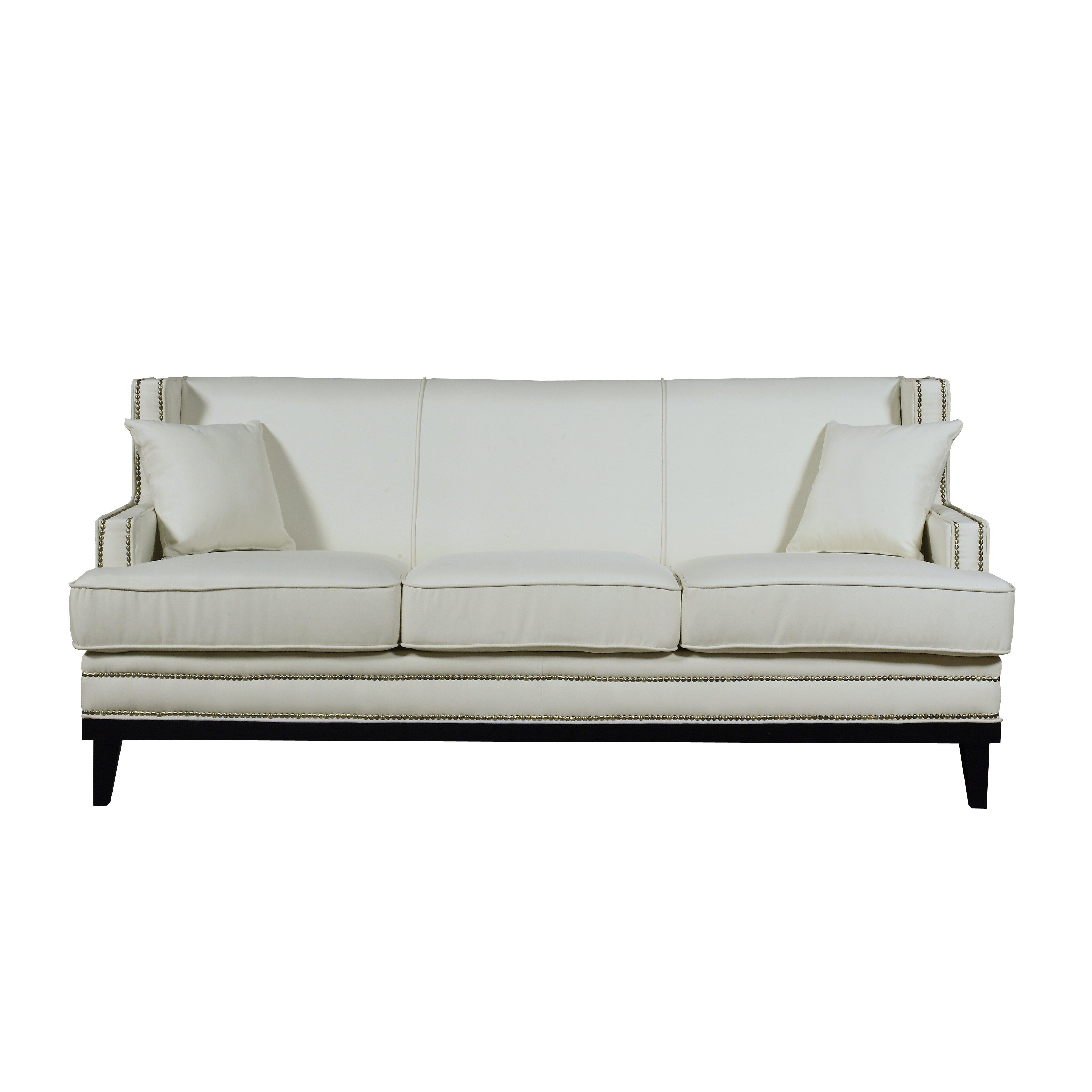 Madison home usa modern sofa reviews wayfair for Buy sofa online usa