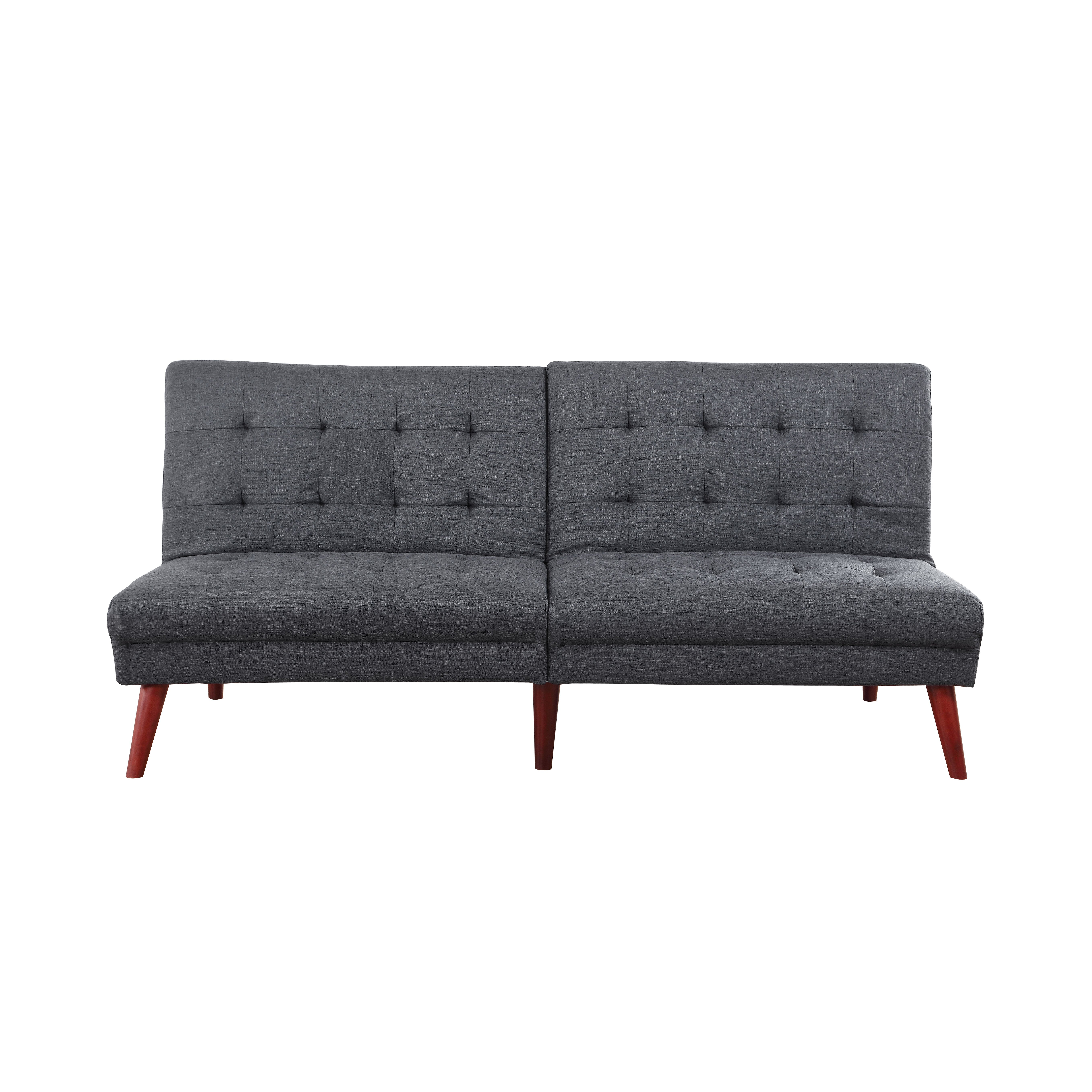 madison home usa modern tufted convertible sofa reviews wayf