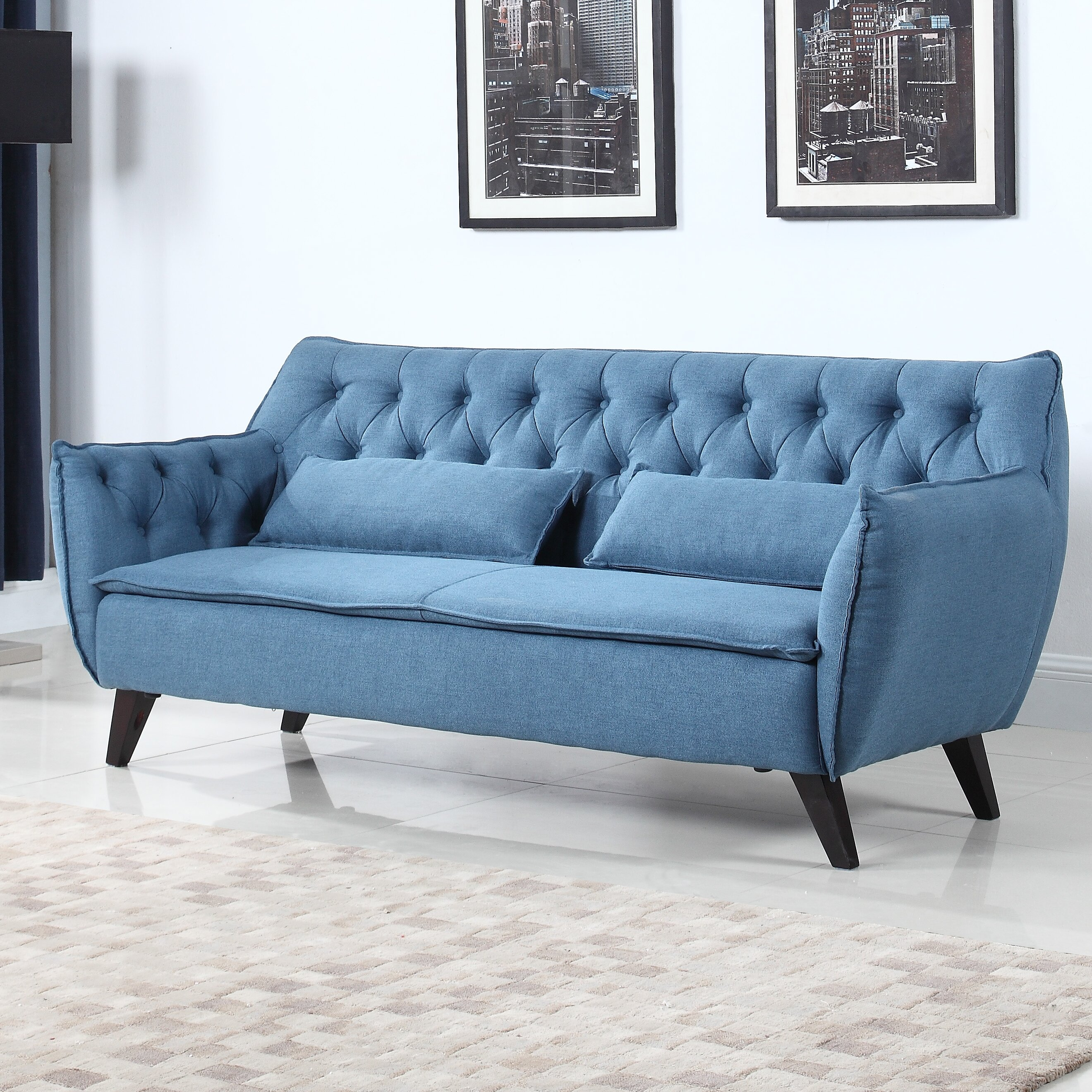 ^ Madison Home US Mid-entury Modern Sofa & eviews  Wayfair