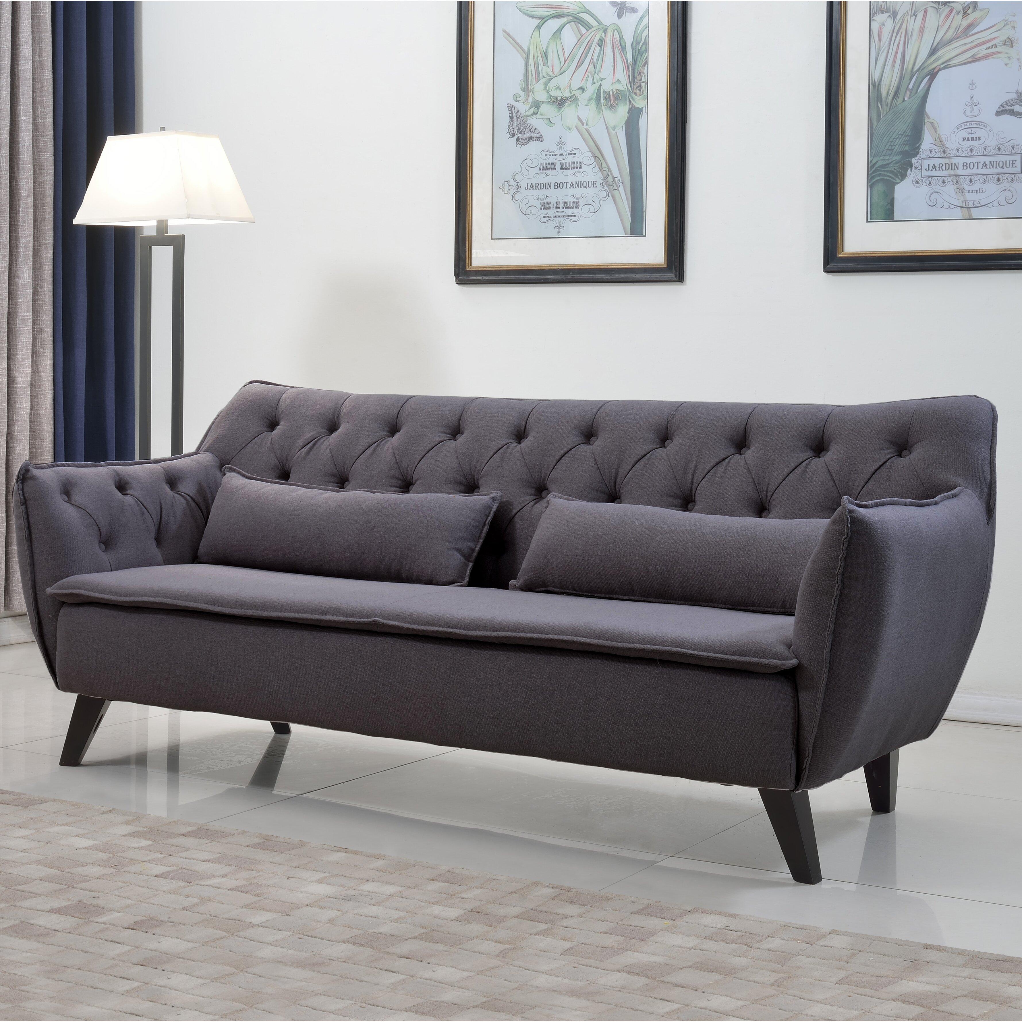Madison Home Usa Mid Century Modern Sofa Reviews Wayfair