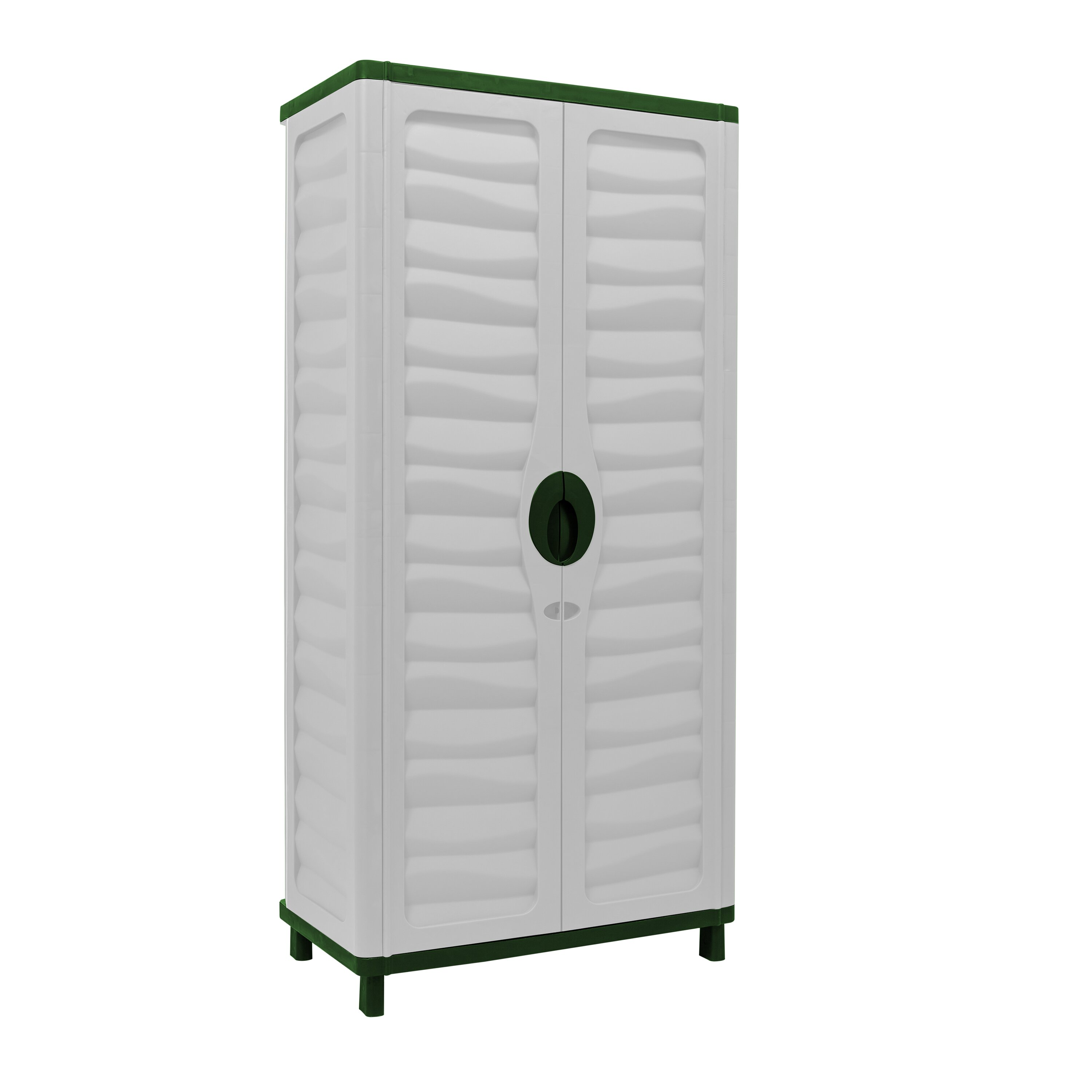 Resin Utility Cabinet Starplast Vertical Partition 62 H X 293 W X 171 D Storage