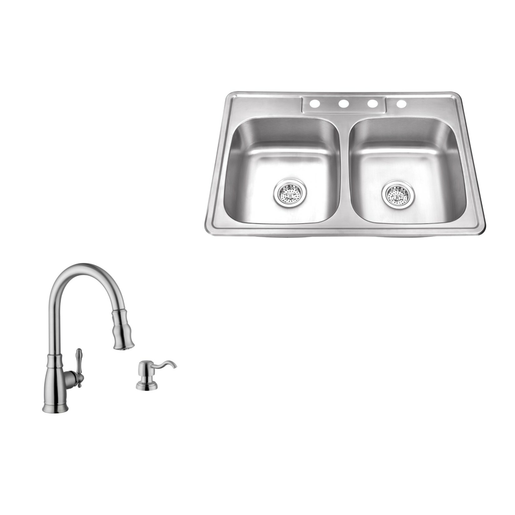 Drop In Kitchen Sinks Double Bowl : ... 33