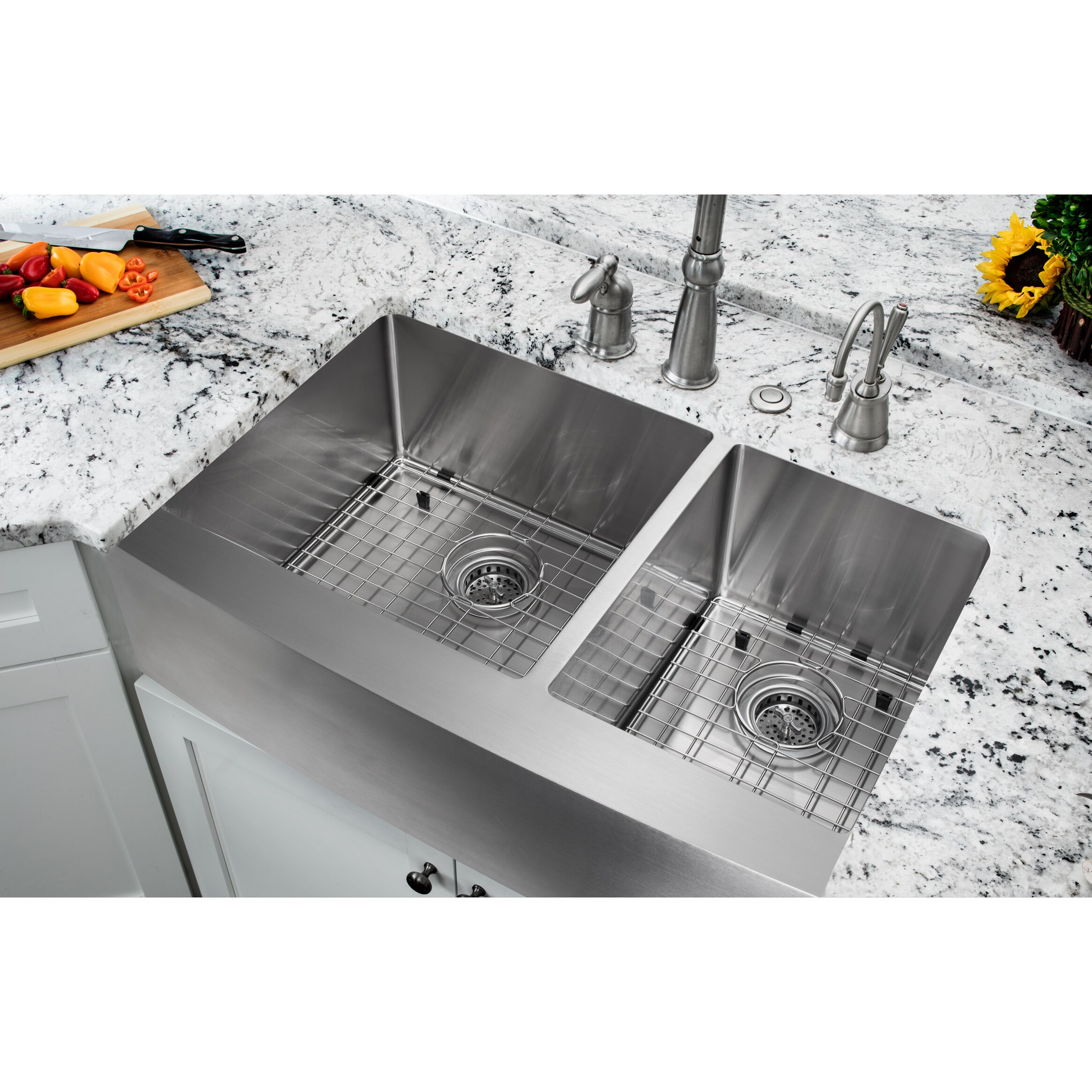 All Kitchen Sinks l c O~Farmhouse+ 5BS 5D+Apron apron front kitchen sink 35 20 75 Double Bowl Farmhouse Apron Kitchen Sink