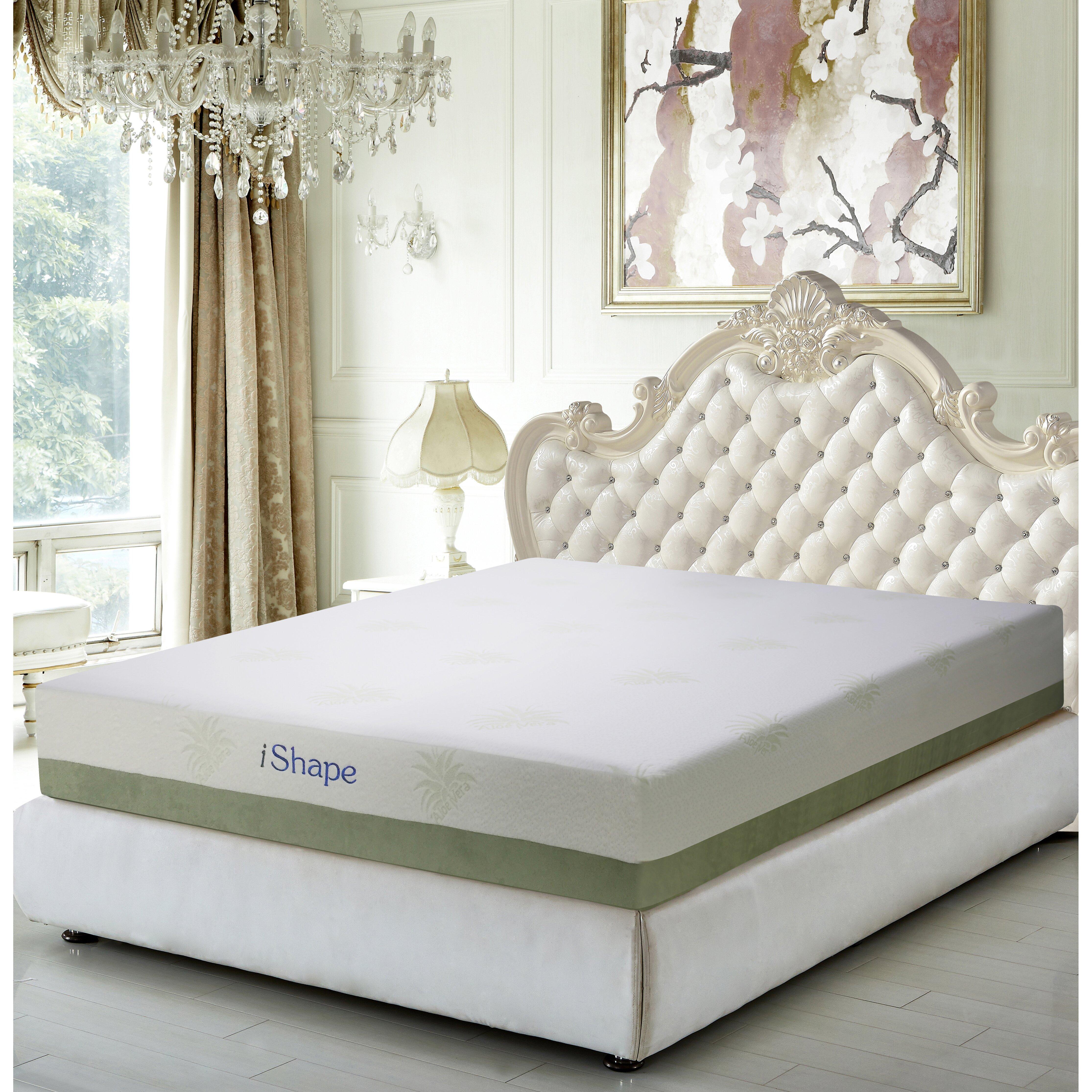 Furinno Healthy Sleep Angeland Luxury 10 Firm Memory Foam