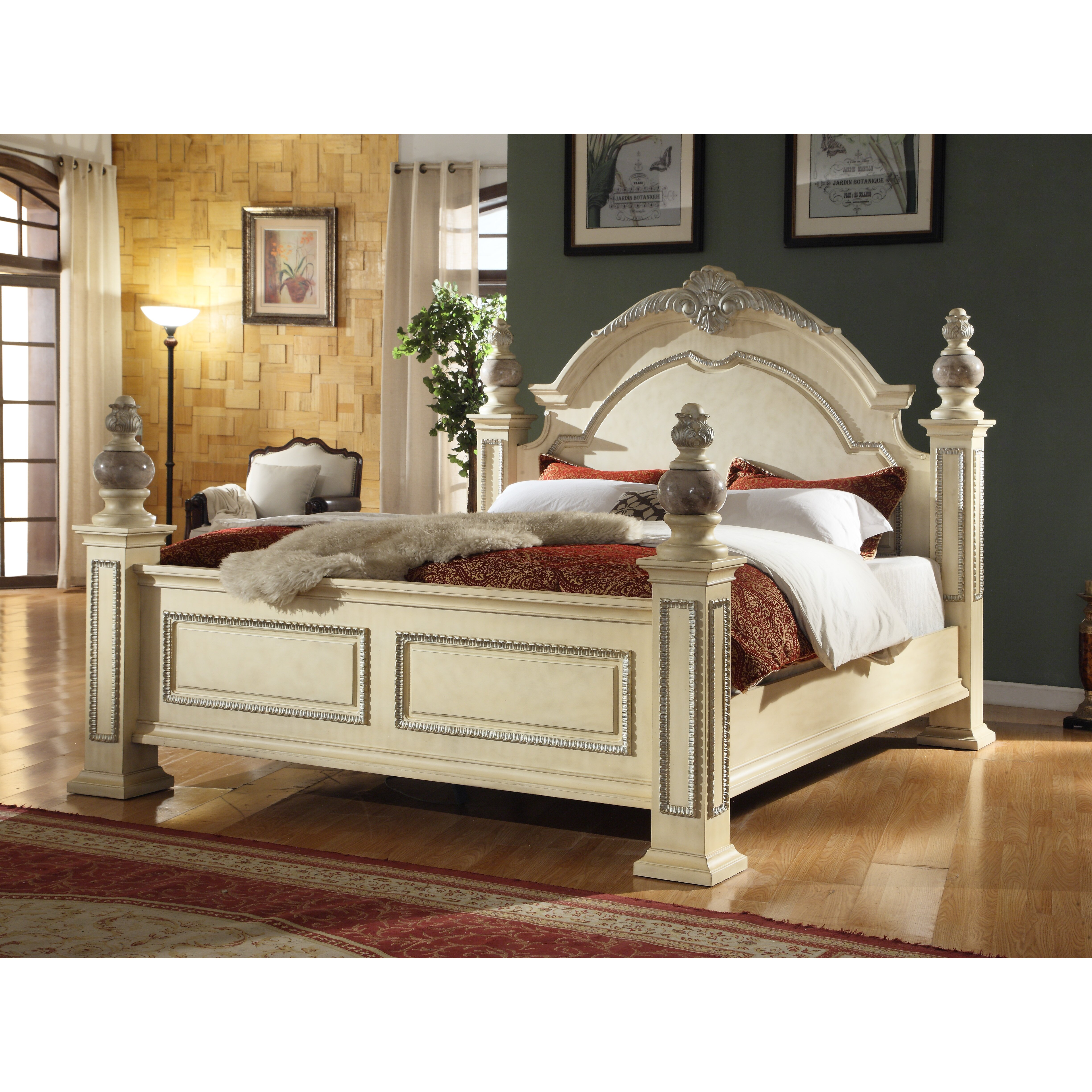 Meridian Furniture USA Sienna Panel Customizable Bedroom