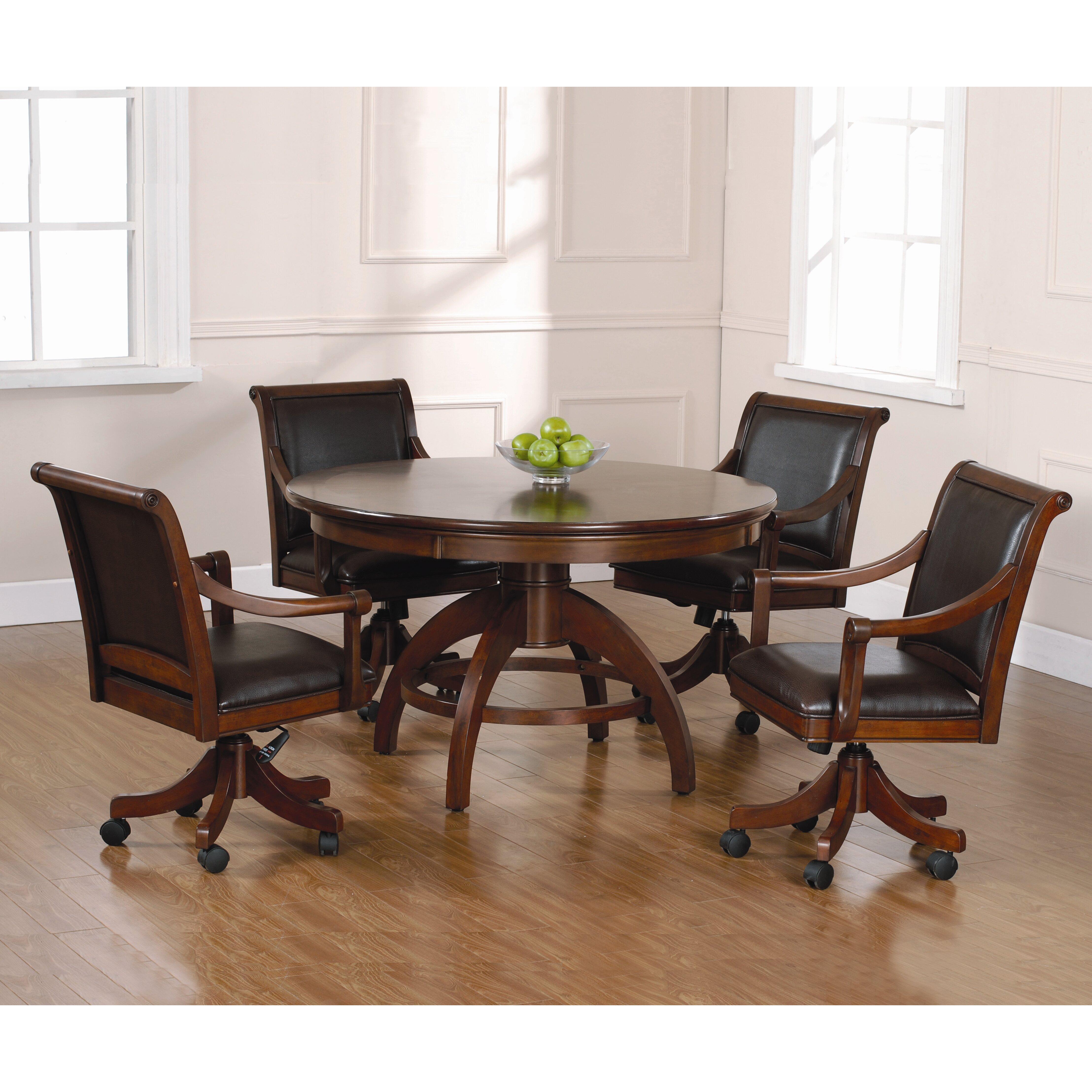 Leather Swivel Dining Room Chairs ~ kukiel.us
