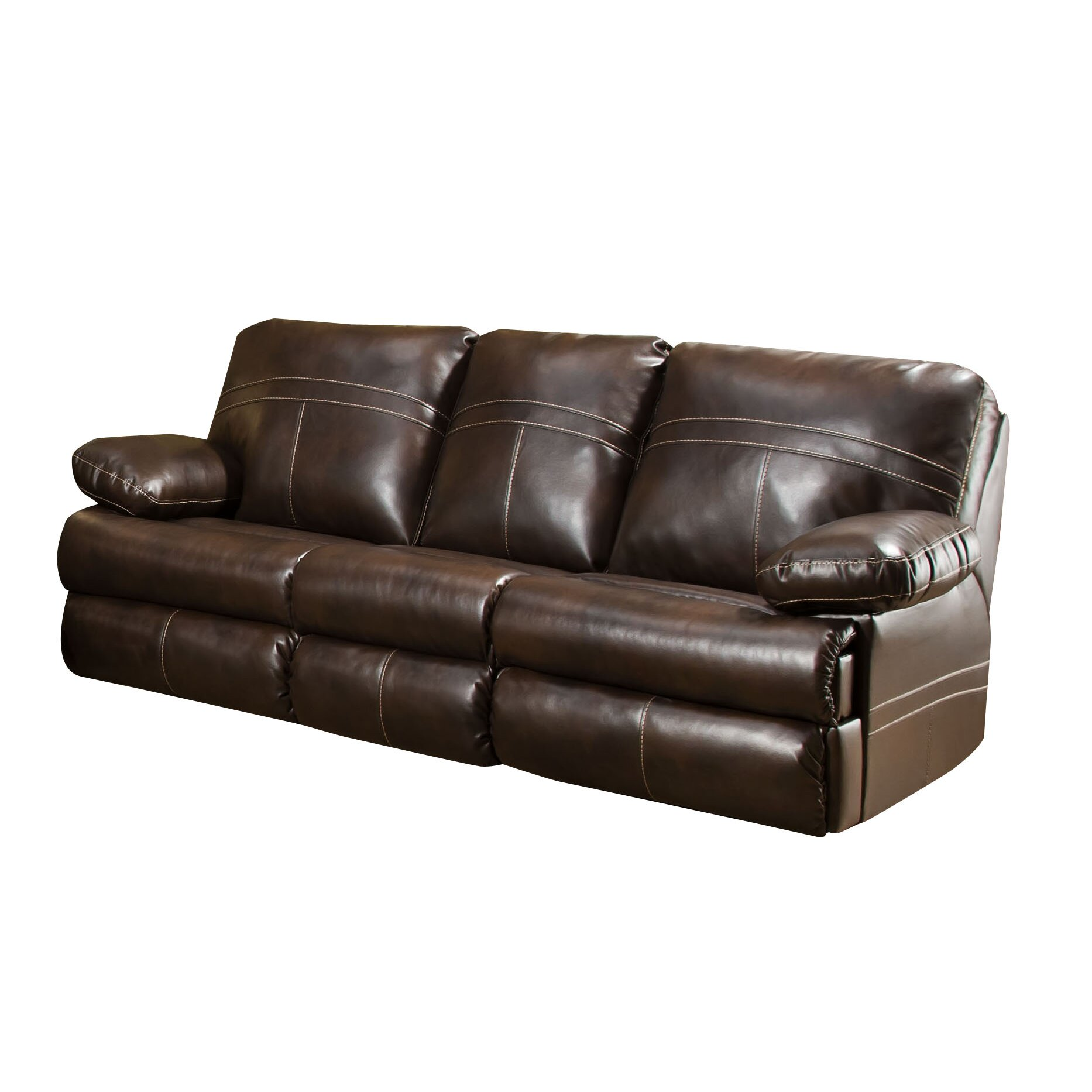 Living Room Furniture Leather And Upholstery Darby Home Co Simmons Upholstery Obryan Reclining Living Room