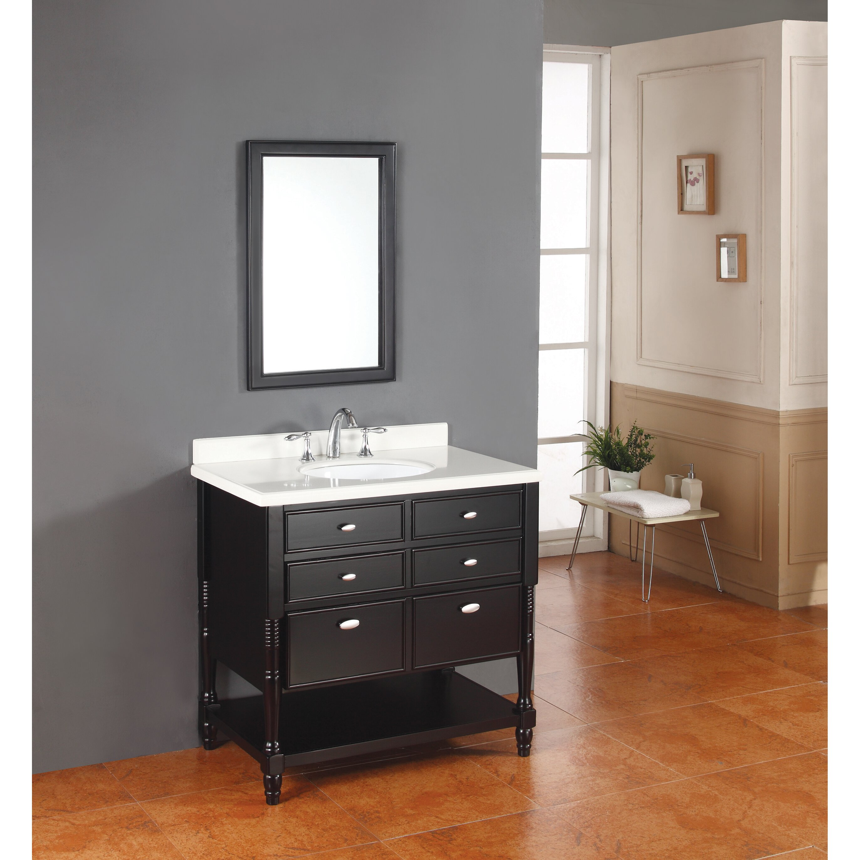 Jolene 36 amp quot  Single Bathroom Vanity. Jolene 36 quot  Single Bathroom Vanity  amp  Reviews   Joss  amp  Main