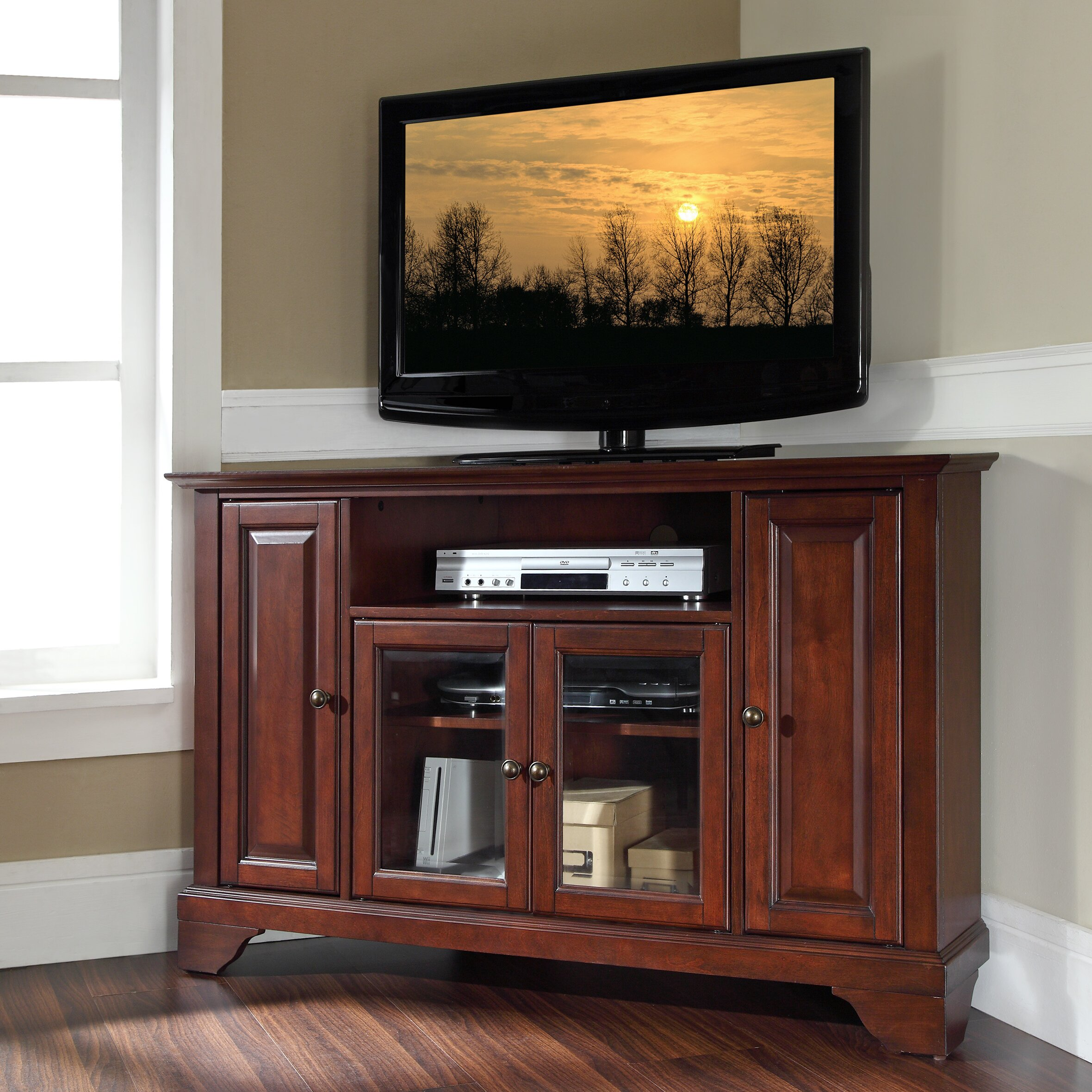 60 inch corner tv stand - Quick View Mcvey Tv Stand