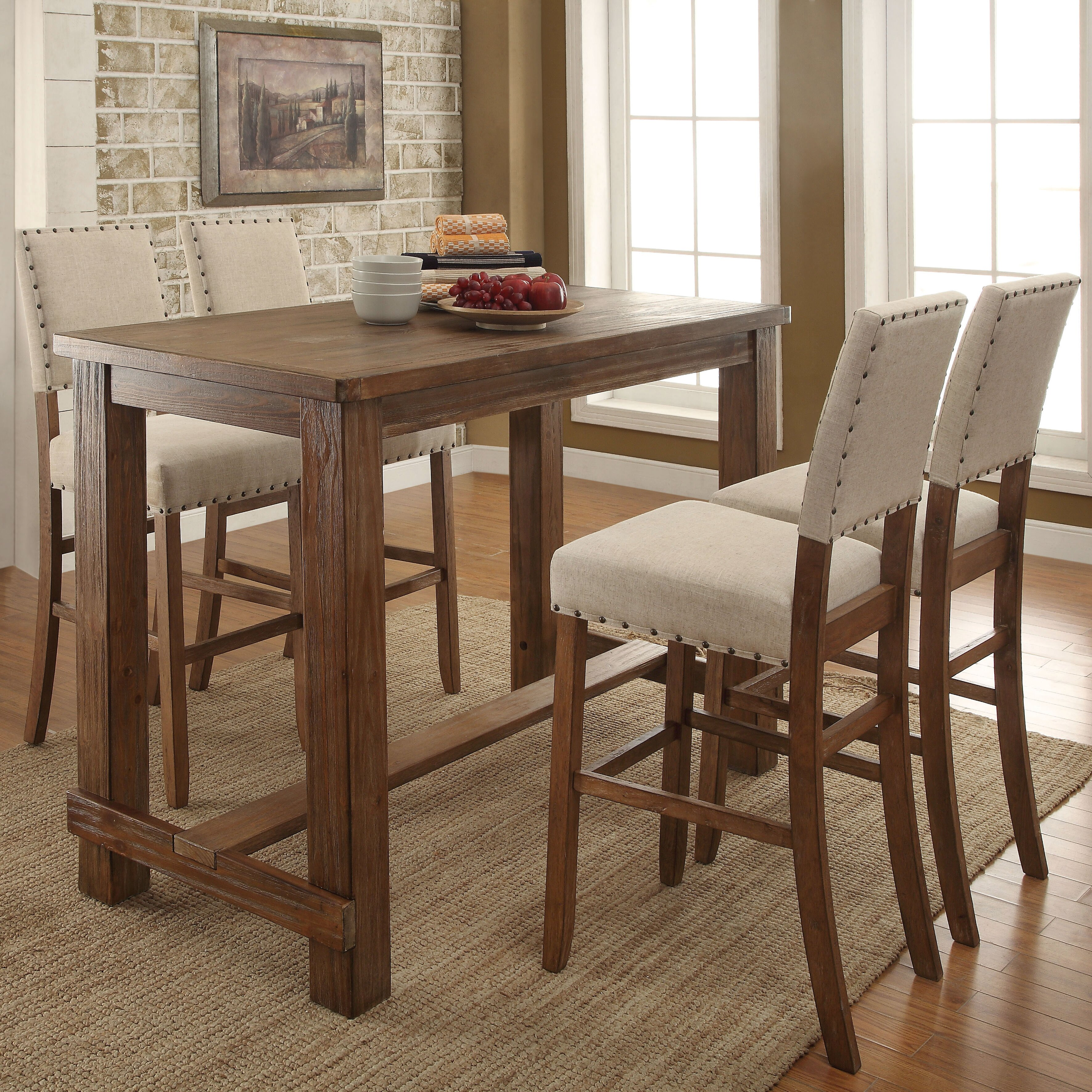 Kitchen Pub Table And Chairs Kitchen Pub Table Sets Tabetaranet