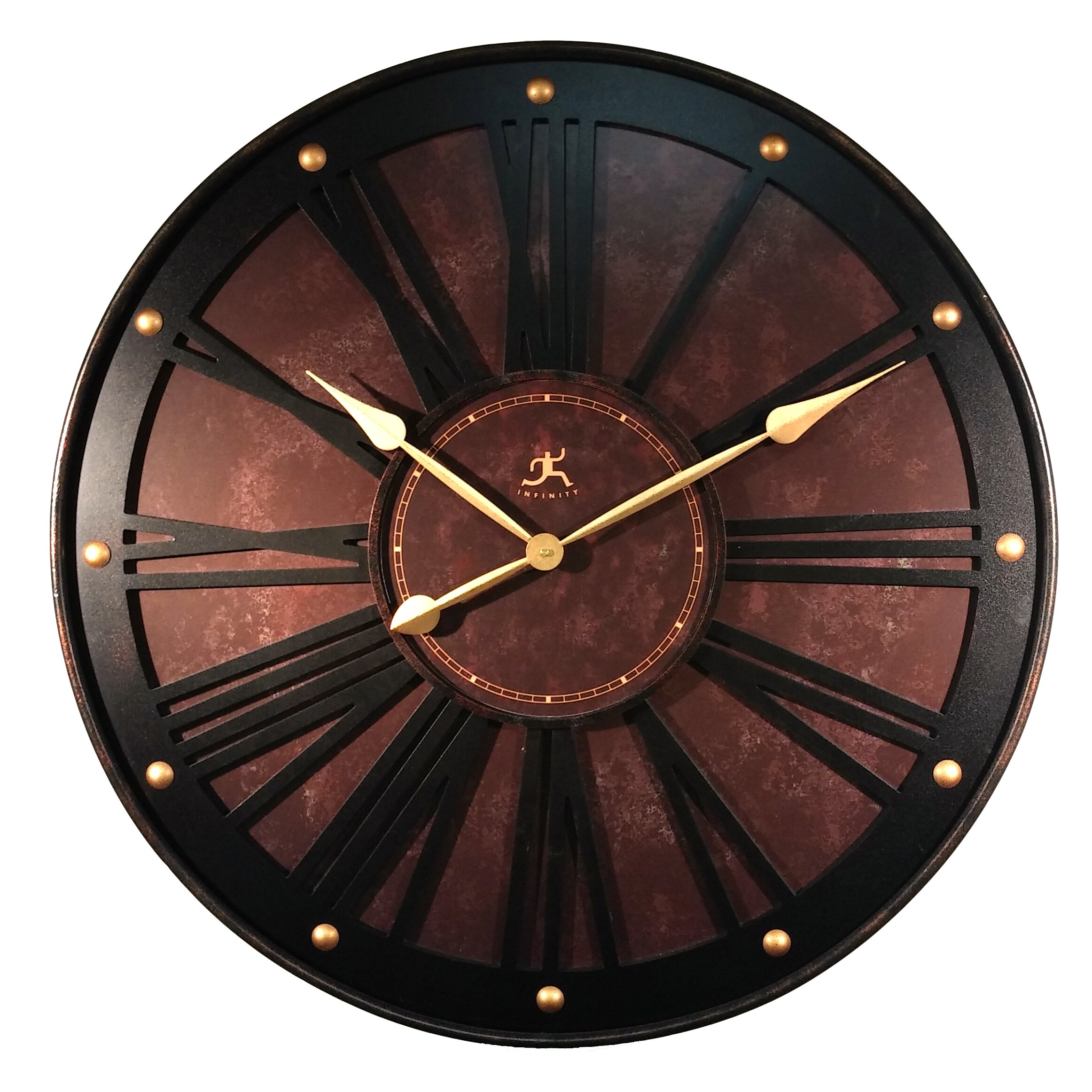 Country Kitchen Wall Clocks Red Wall Clocks Youll Love Wayfair
