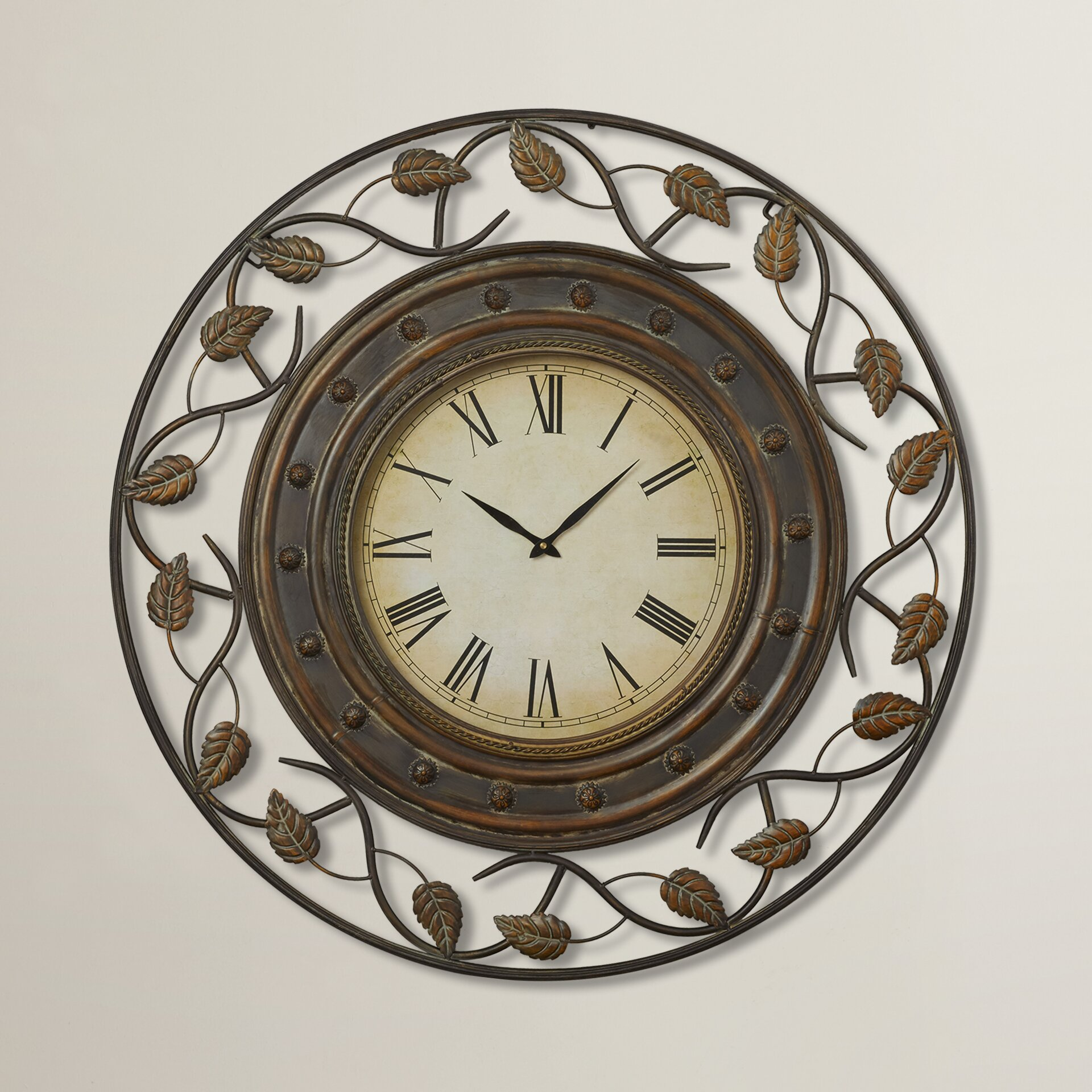 Darby Home Cou0026reg; Cleffort 36 Decorative Wall Clock