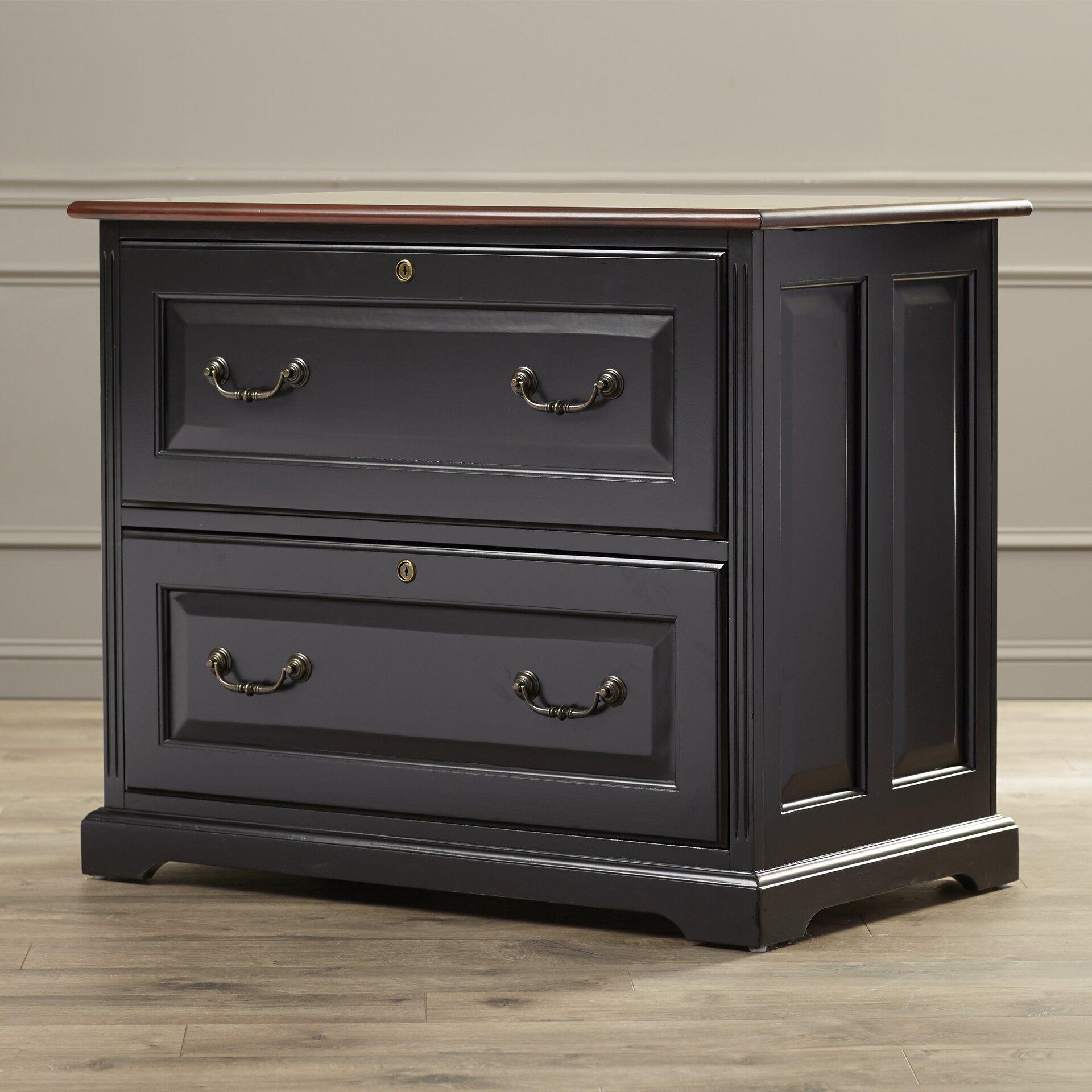 Darby Home Cou0026reg; Bateman 2 Drawer Locking Filing Cabinet
