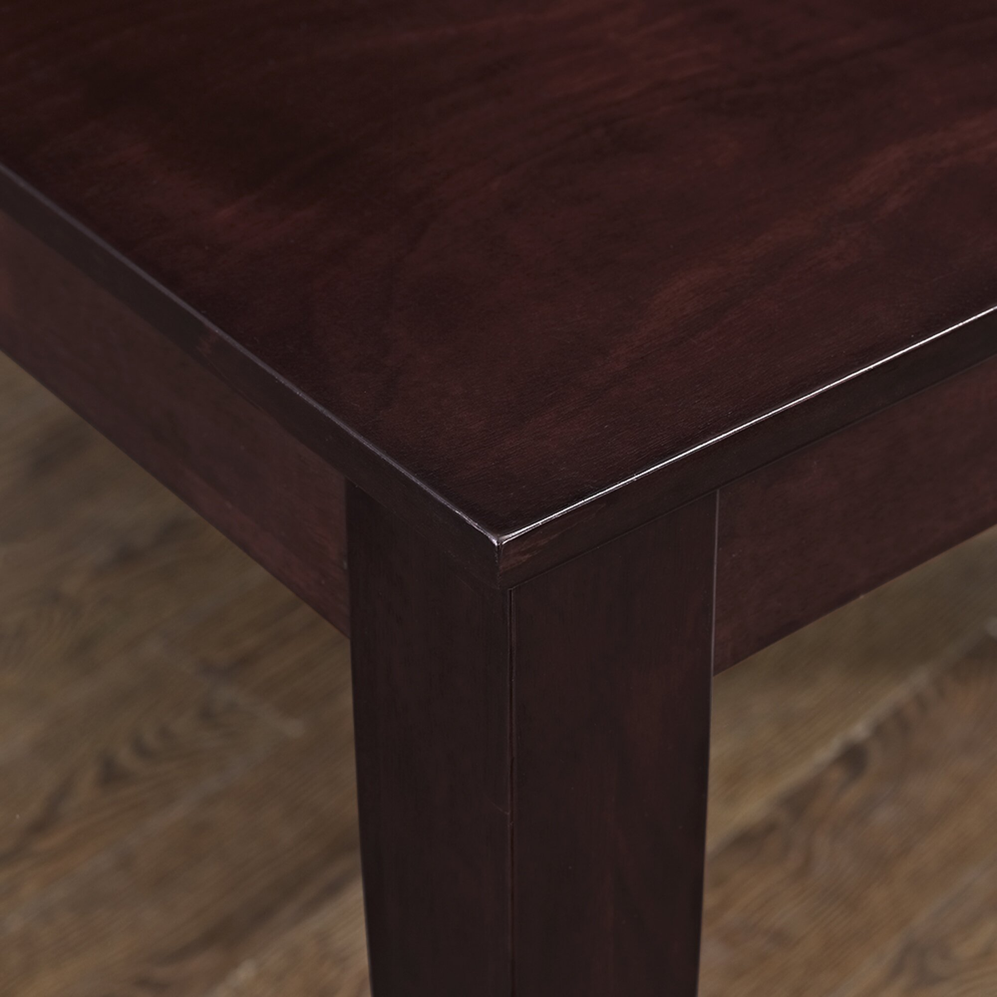 Dining Table Co Darby Home Co Roquefort Square Dining Table Reviews Wayfair