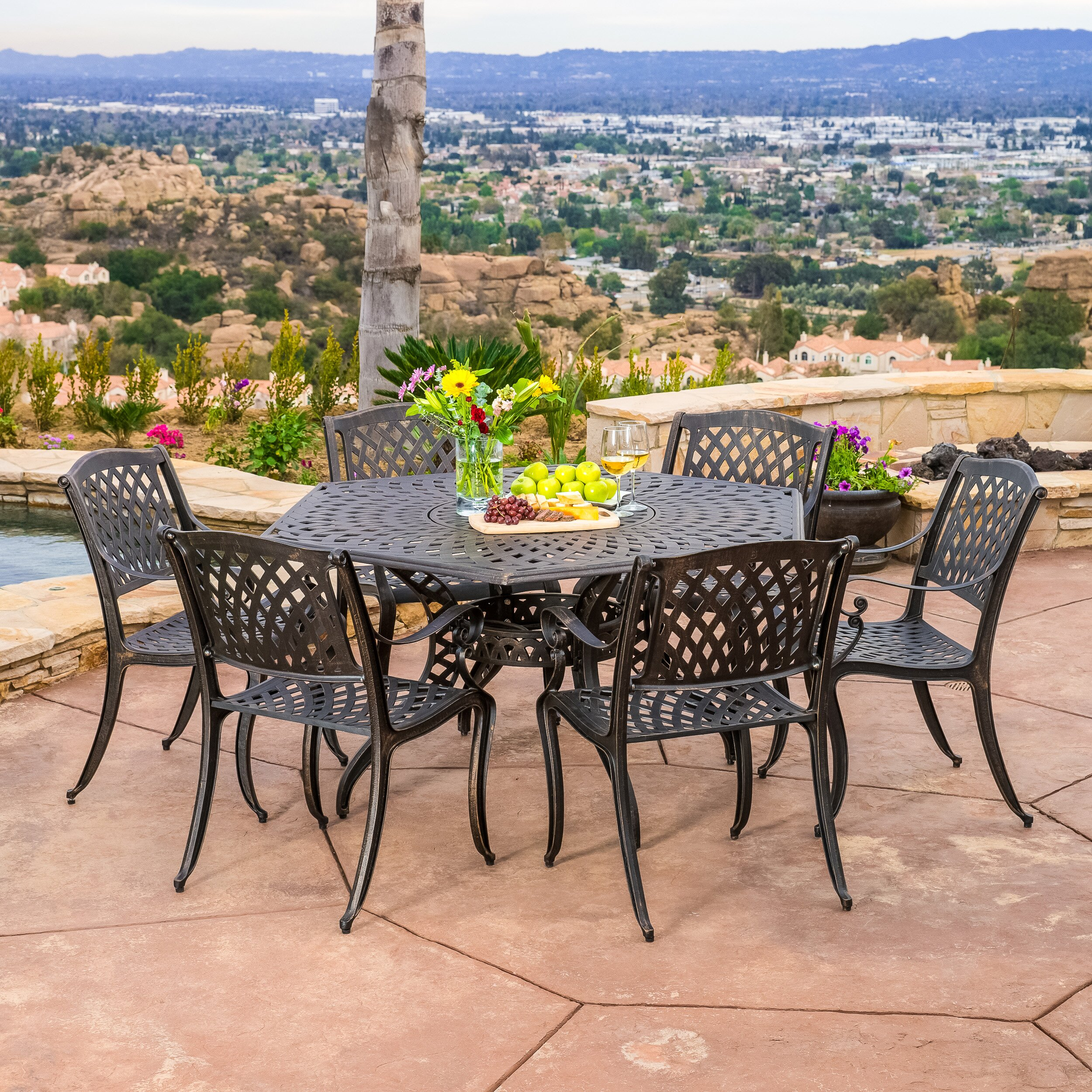 patio dining sets joss main
