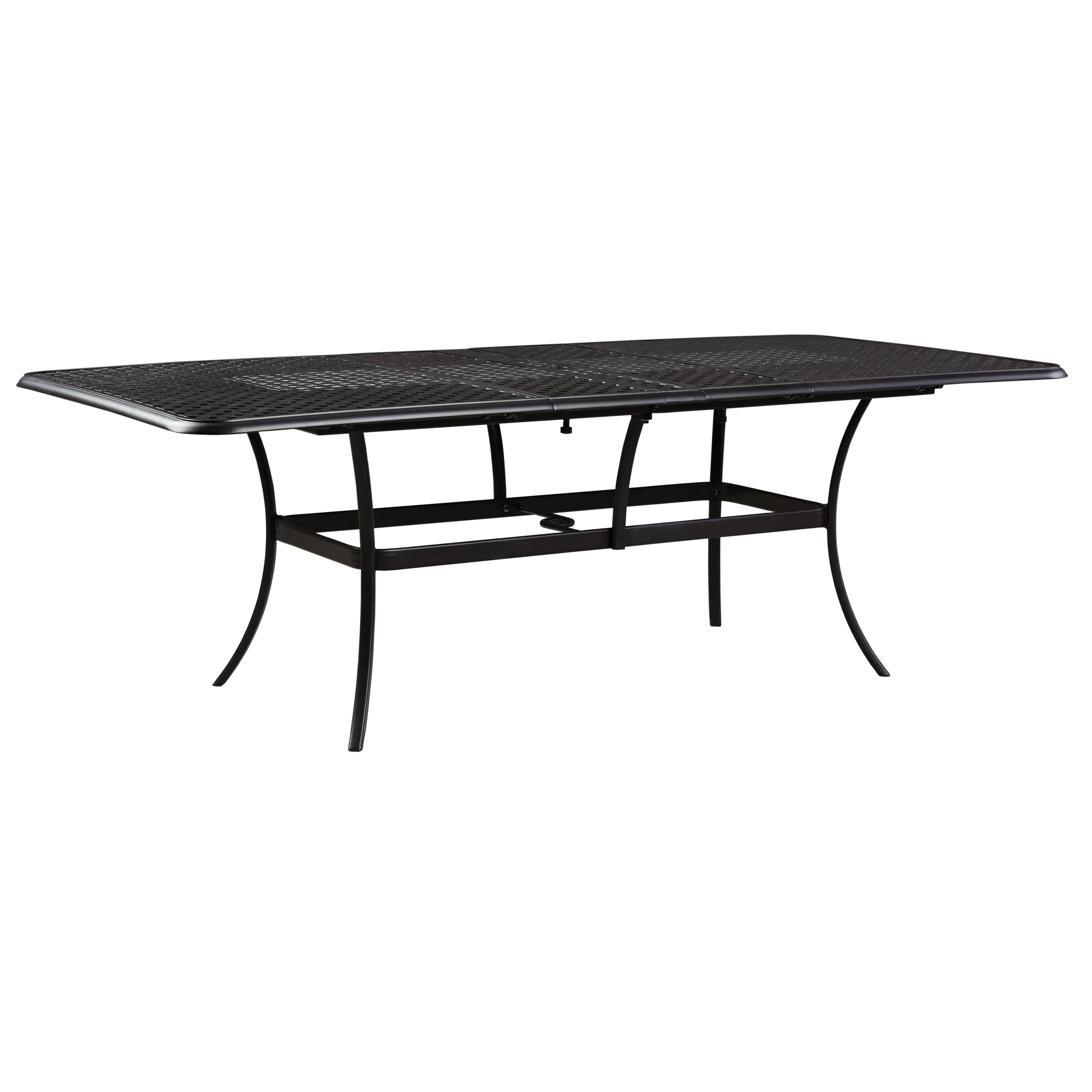 Dining Table Co Darby Home Co Tanglevale Rectangular Ext Dining Table Reviews