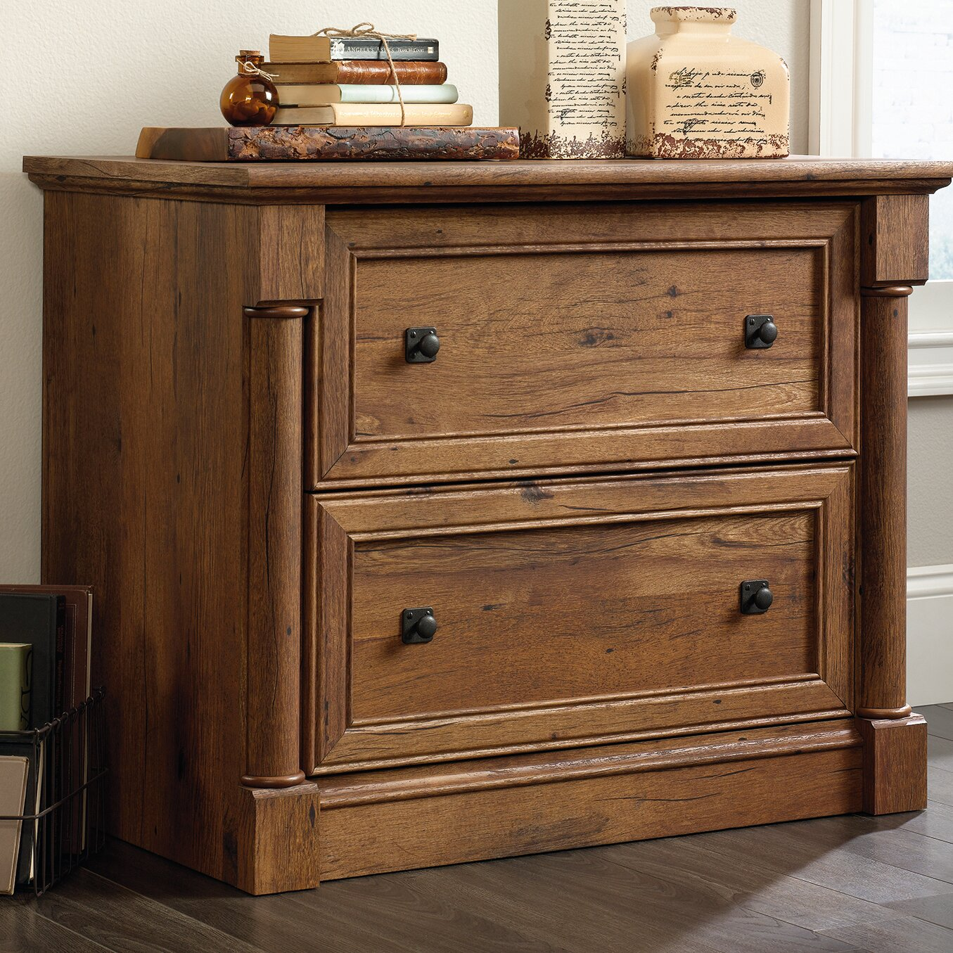 Wood Lateral File Cabinet 2 Drawer Darby Home Co Sagers 2 Drawer Lateral Filing Cabinet Reviews